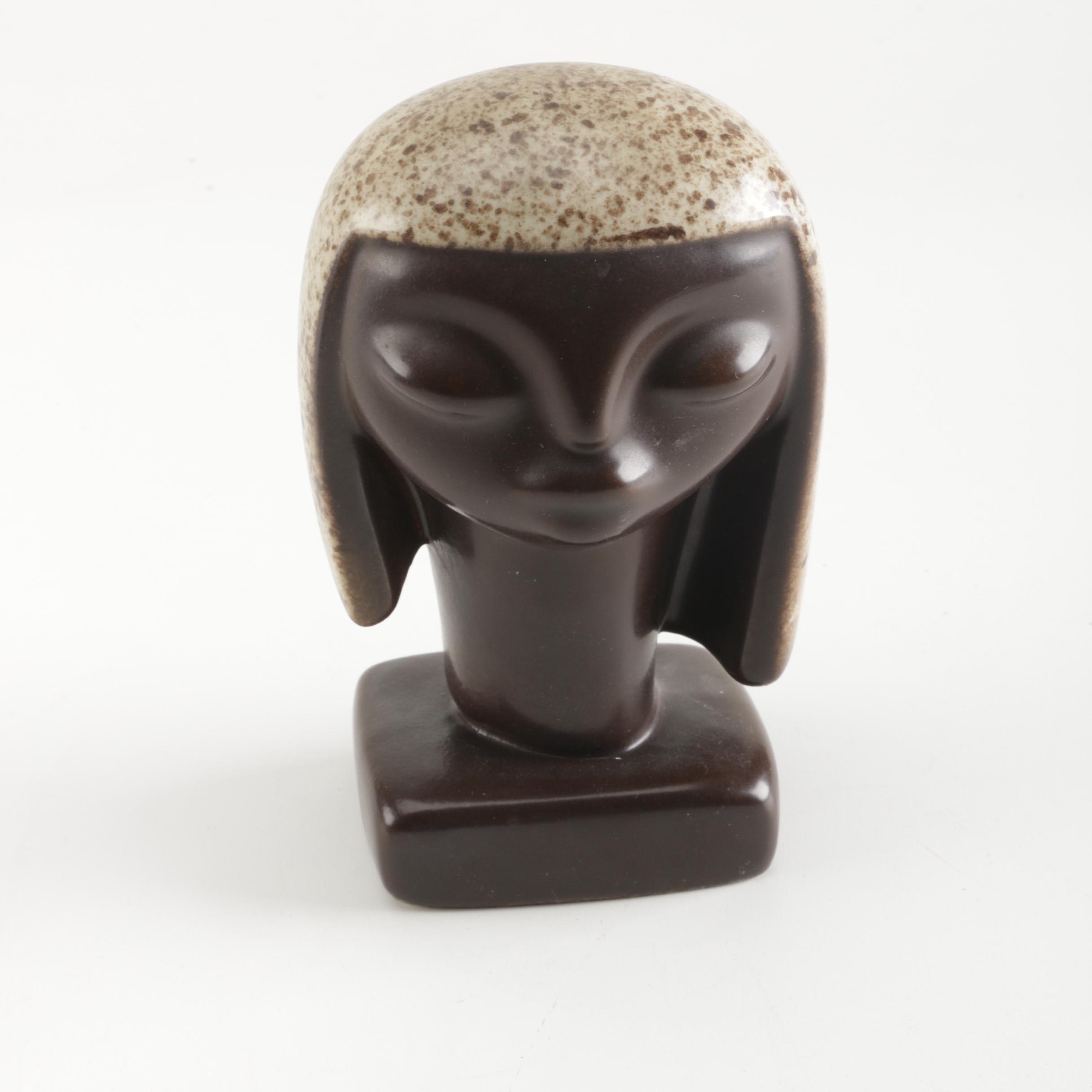 Howard Pierce Bust Sculpture