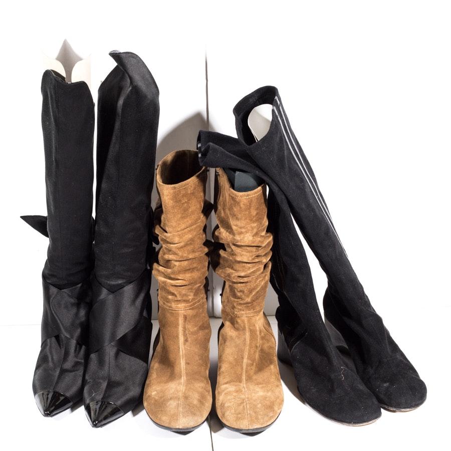 Women's Designer Boots Including Prada