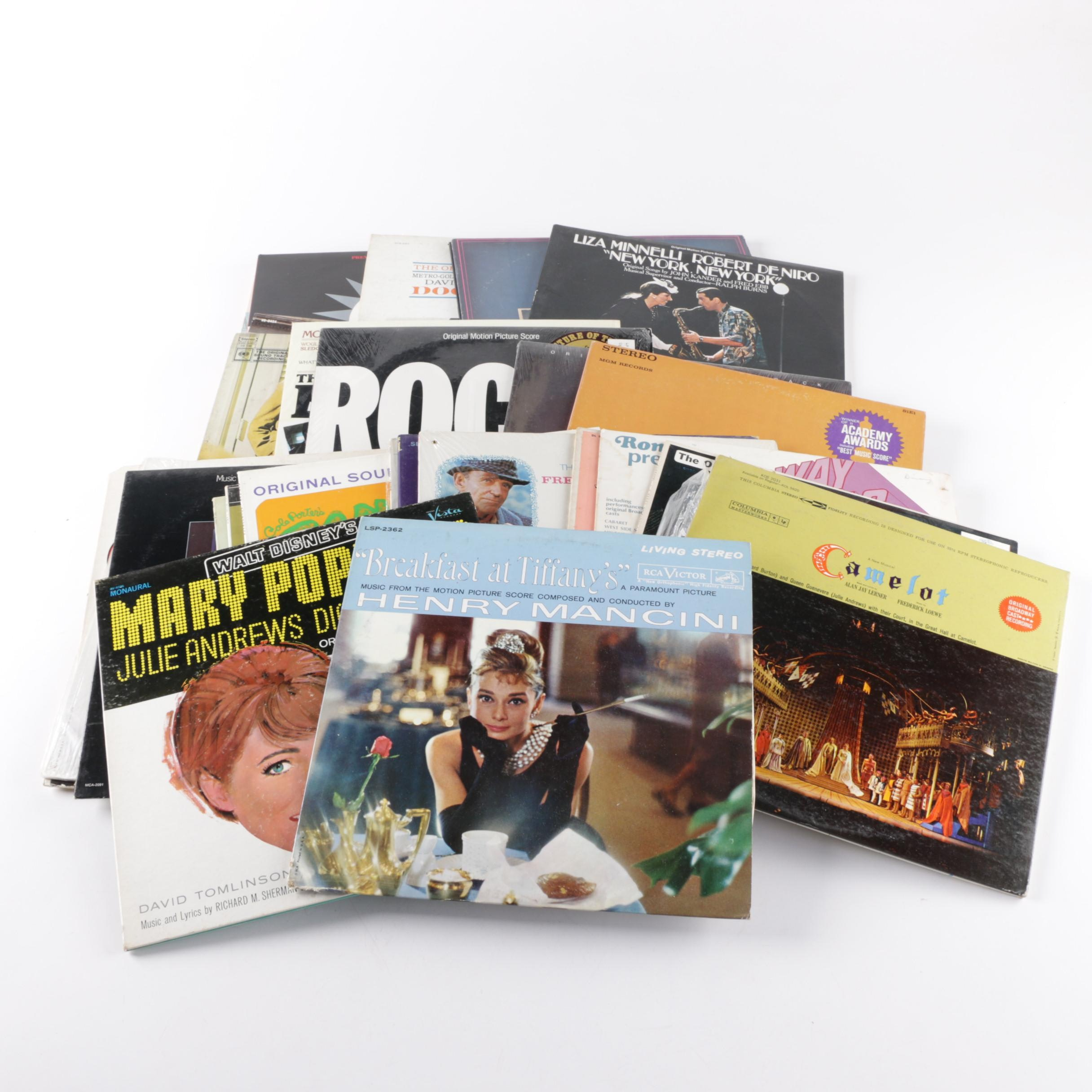 Rocky, Breakfast at Tiffany's, and Other Classic Soundtrack LPs