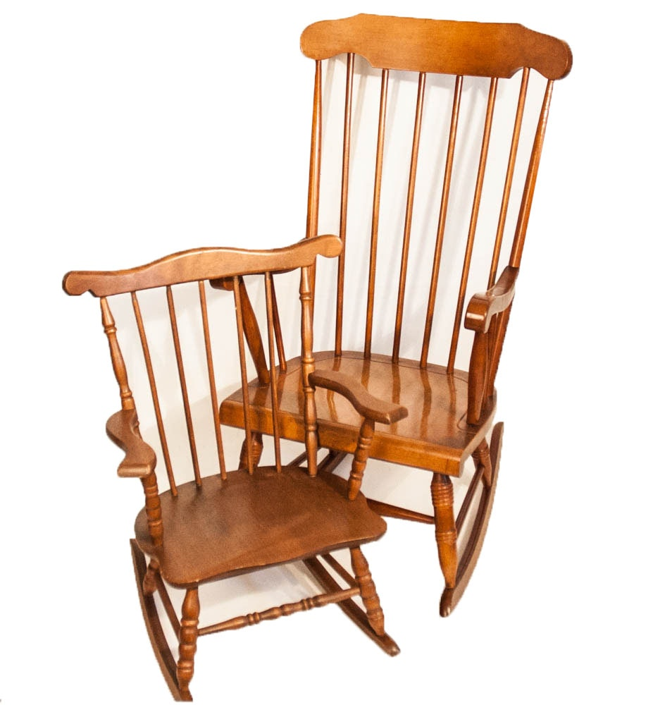 Rocking Chair Adult & Child Pair