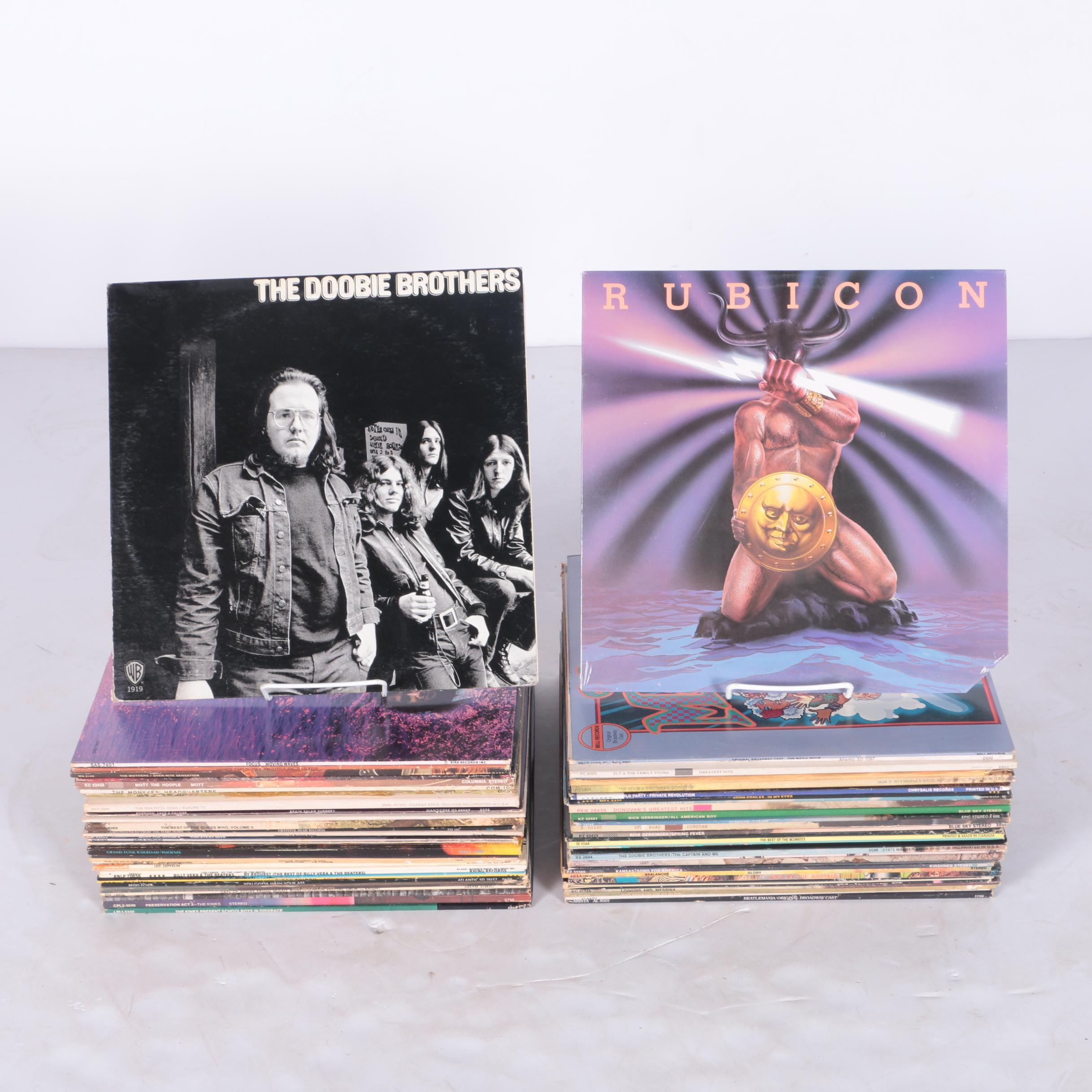 Zeppelin, Kinks, Guess Who, Grateful Dead, Monkees, Donovan, and Other LPs