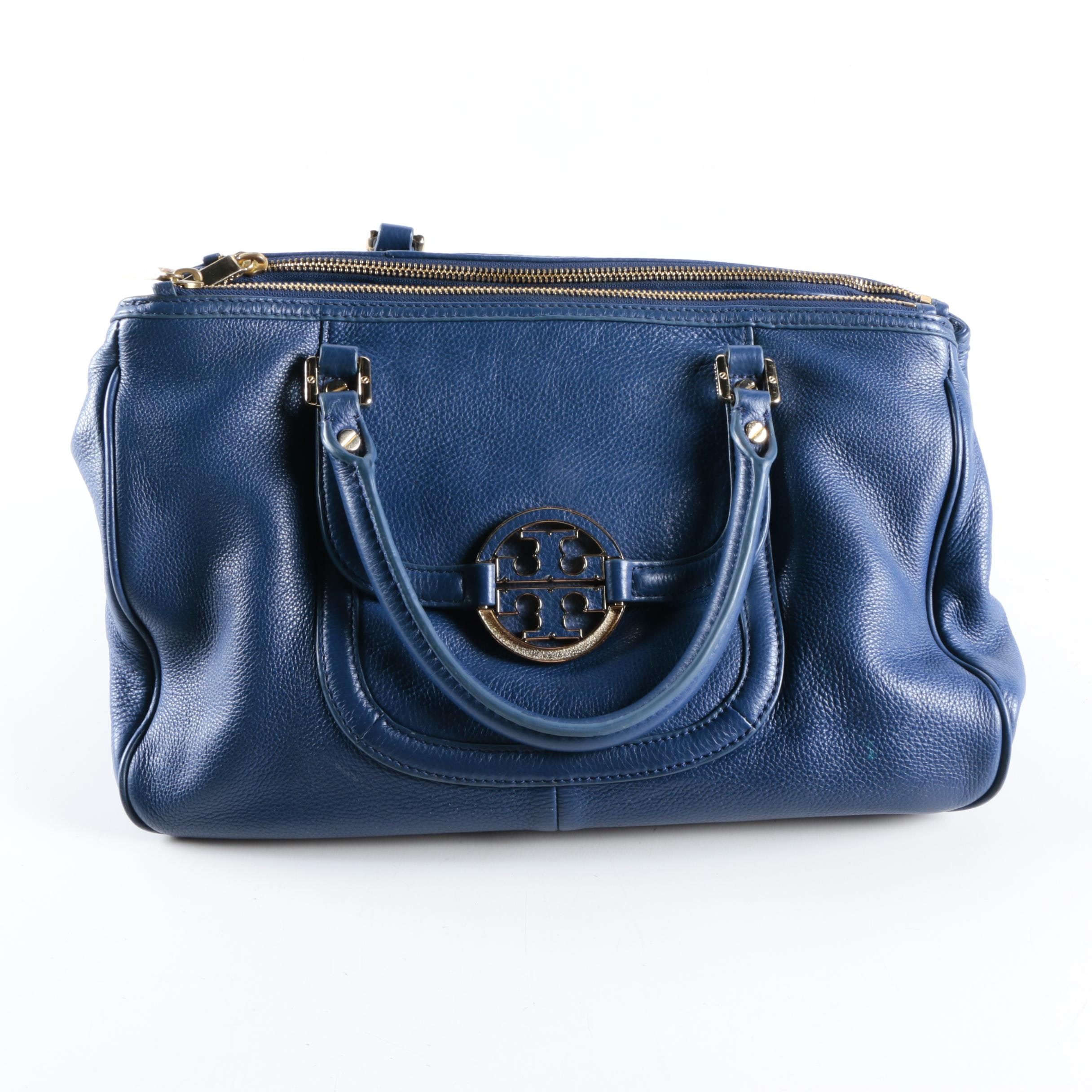 Tory Burch Pebbled Leather Handbag
