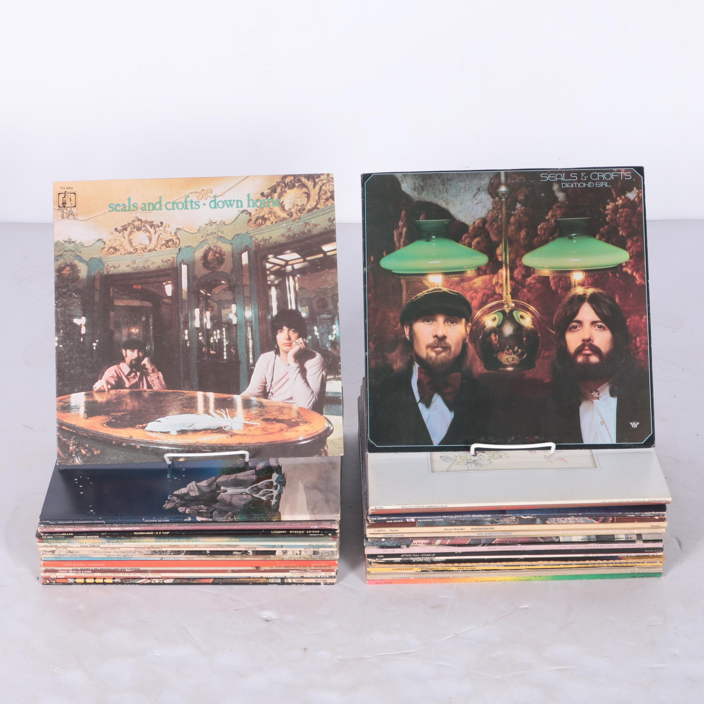 Soft Rock and Other Vintage LPs
