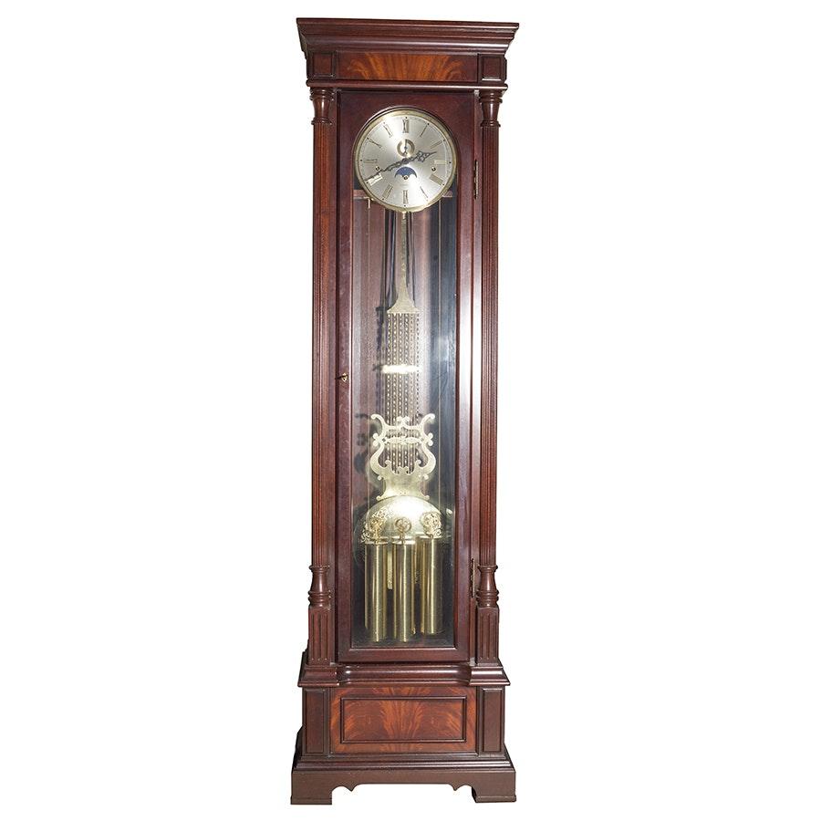 """Vintage """"Centennial"""" Hamilton Cable Driven Grandfather Clock"""