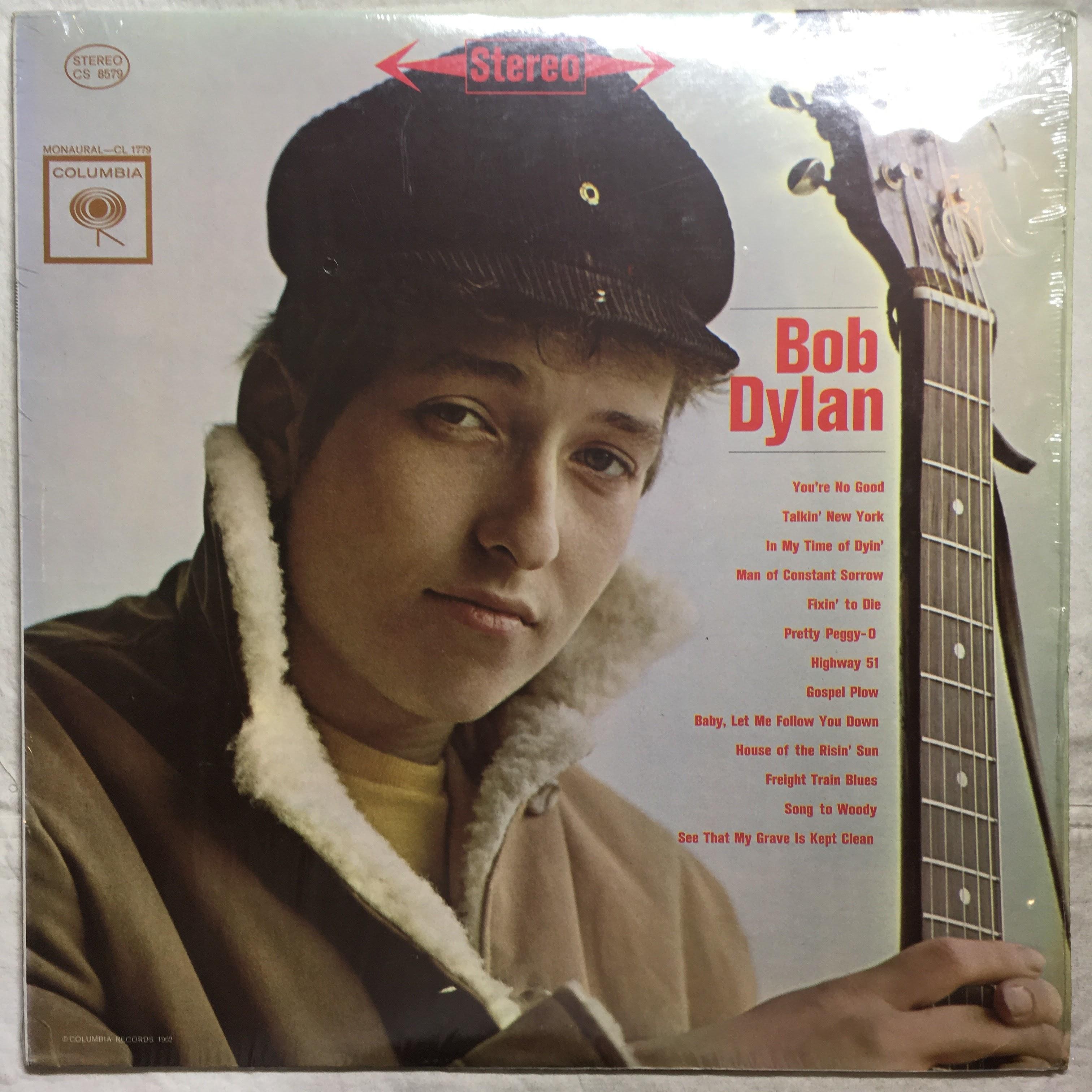 """Bob Dylan – """"Bob Dylan (self titled)"""" Mint LP"""