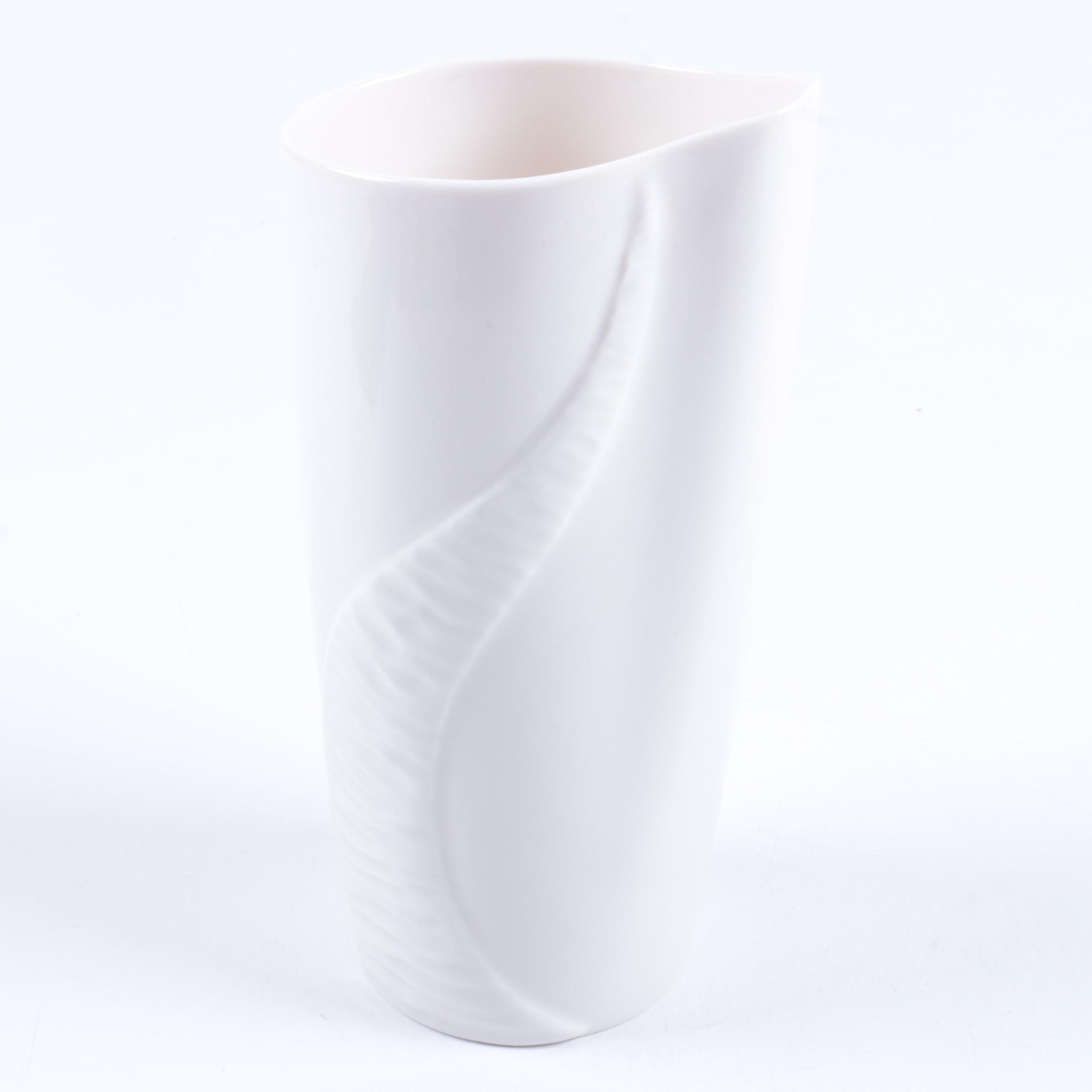 Belleek Decorative Porcelain Vase