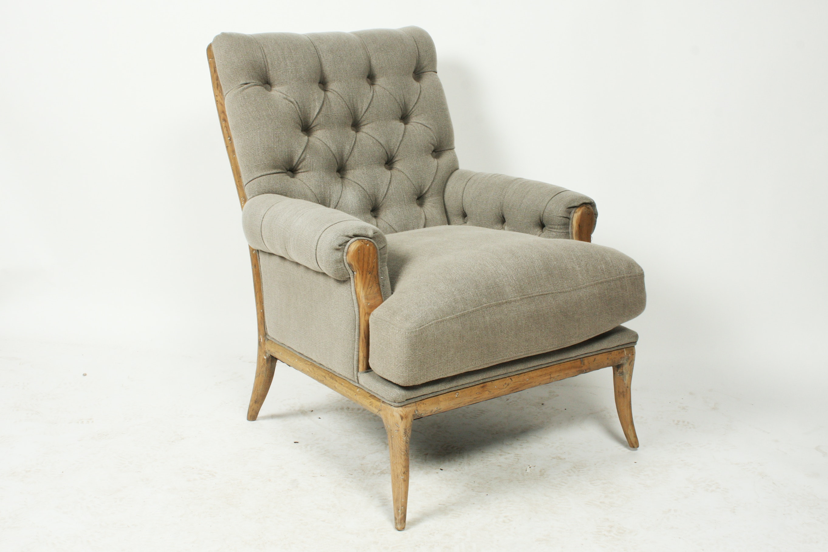 upholstered armchair by blink home