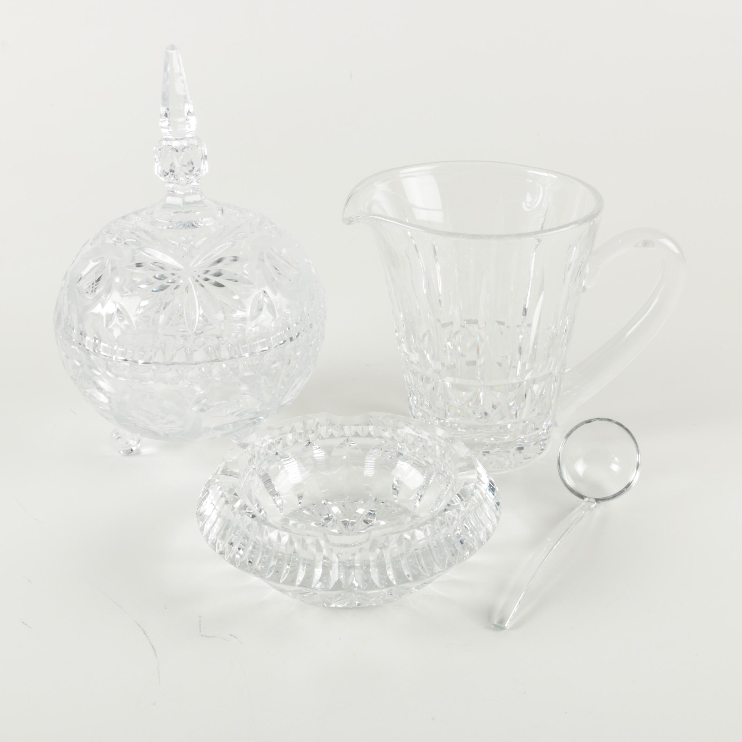 Collection of Crystal Tableware