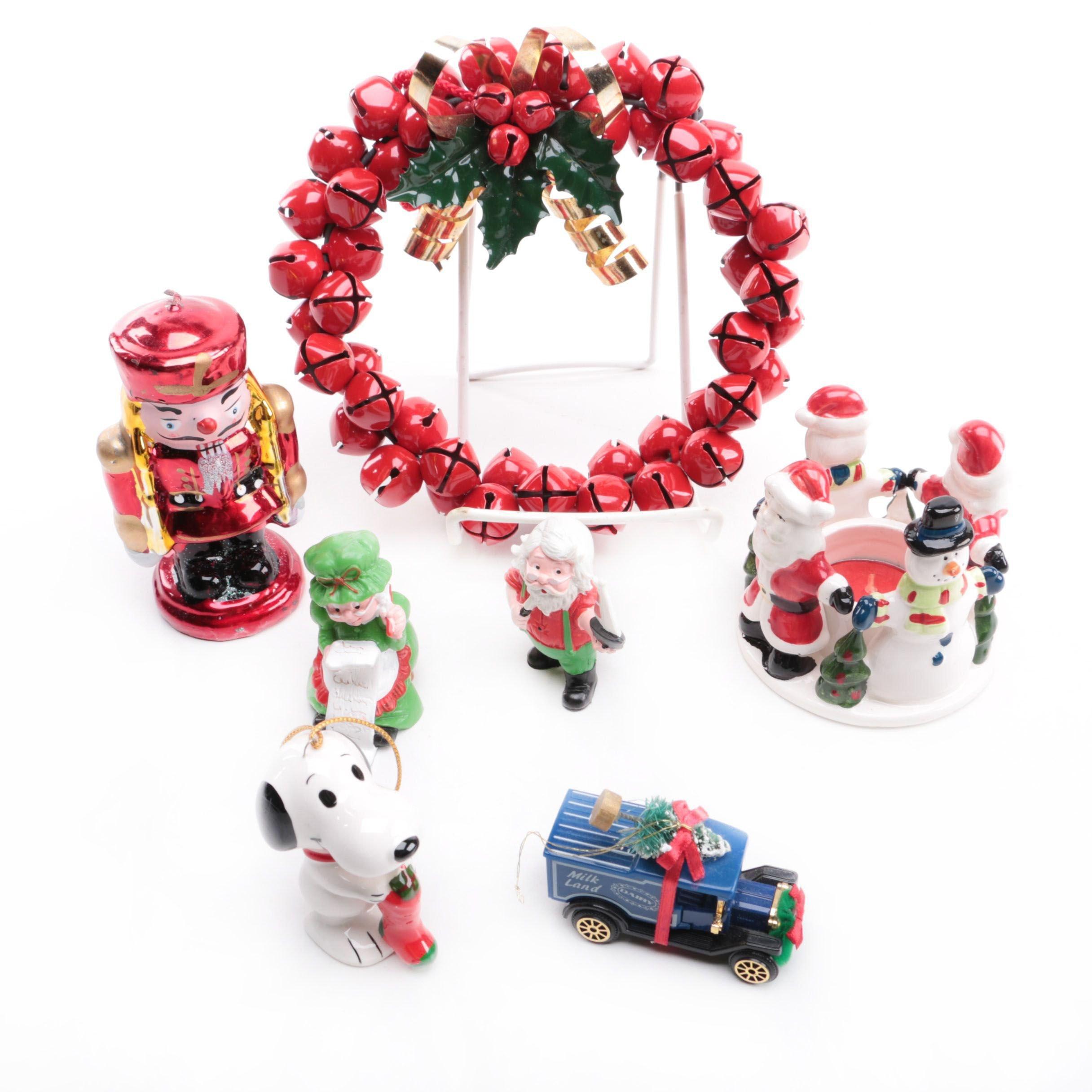 Assortment of Christmas Figurines