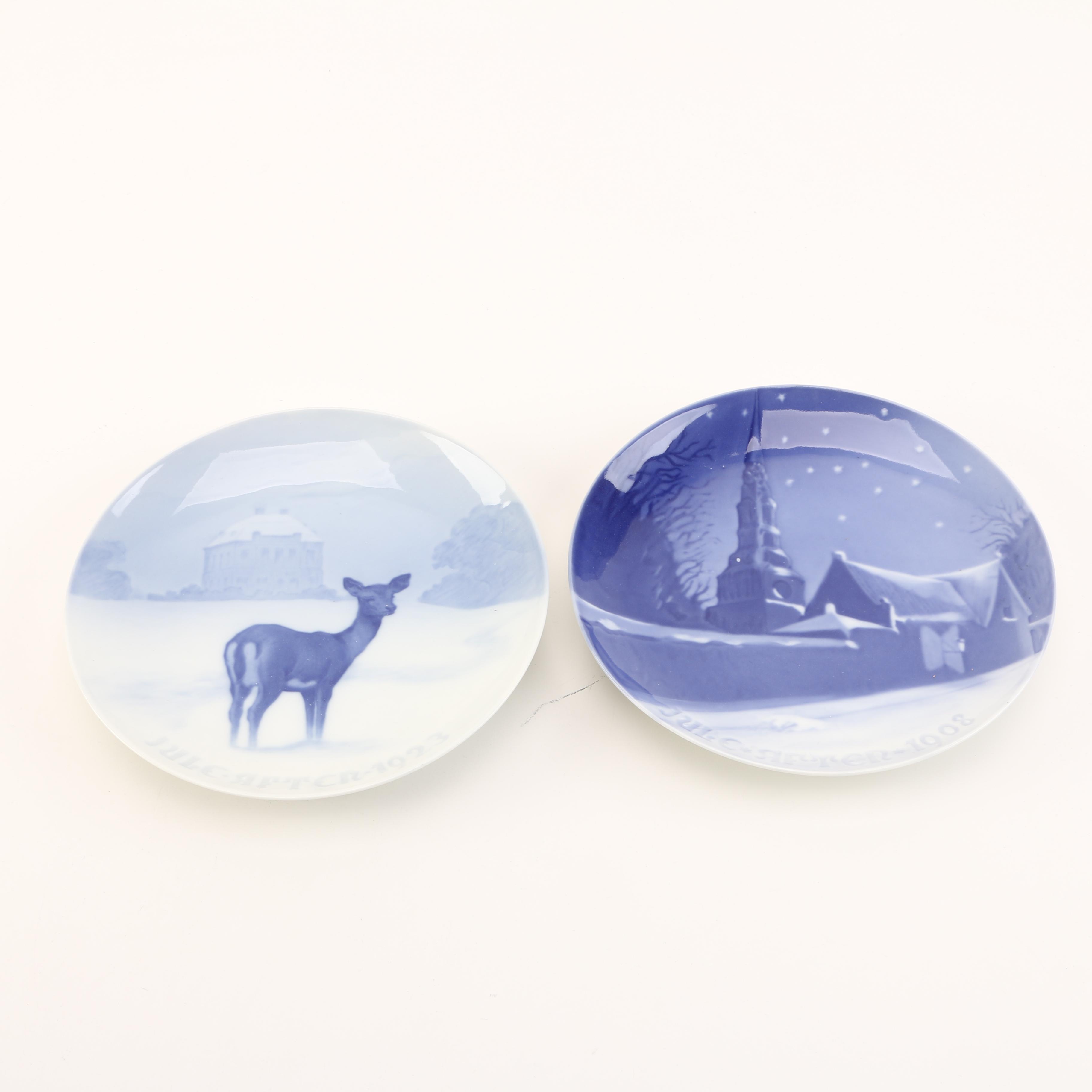 Bing & Grøndahl Porcelain Collector's Plates