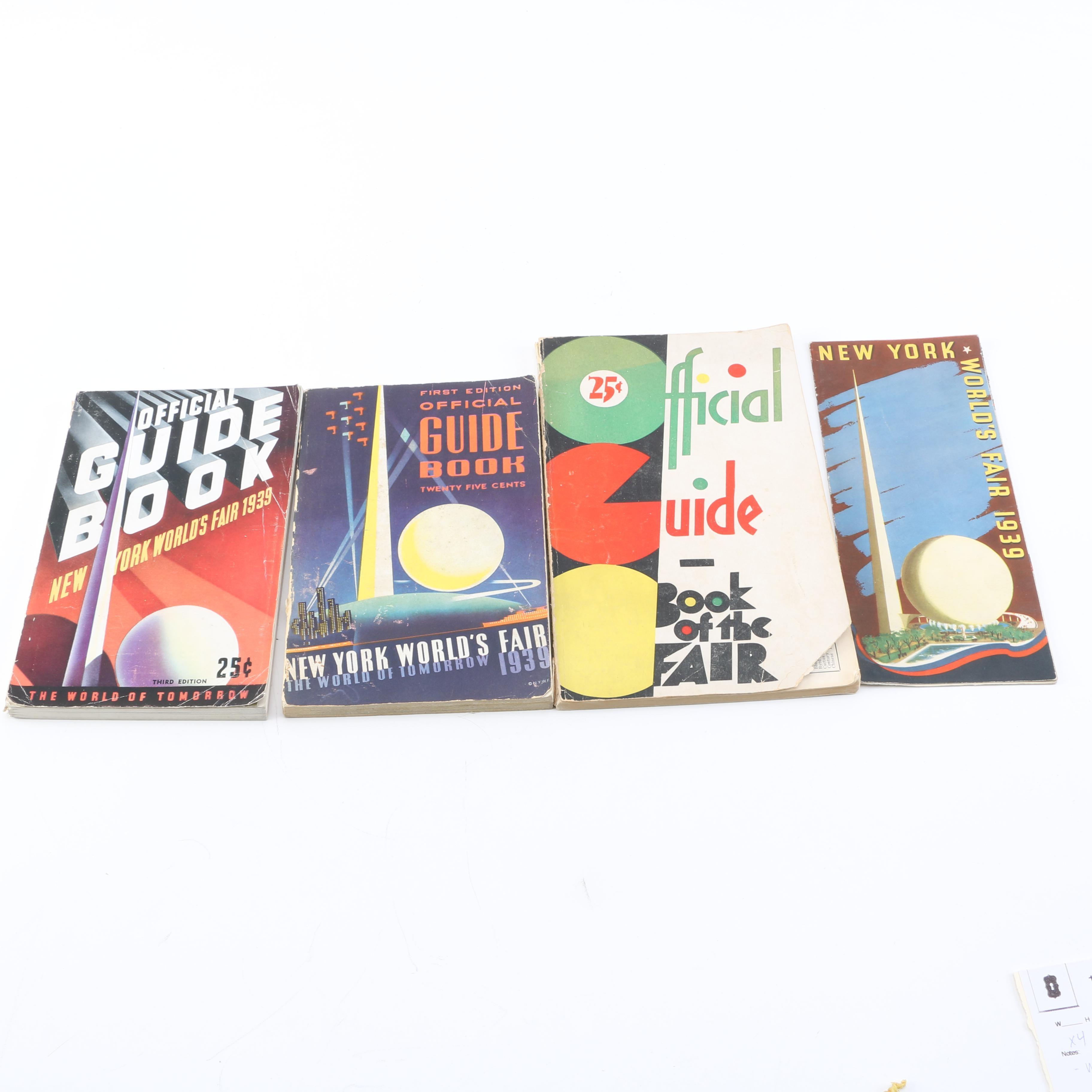 1930s World's Fair Guidebooks