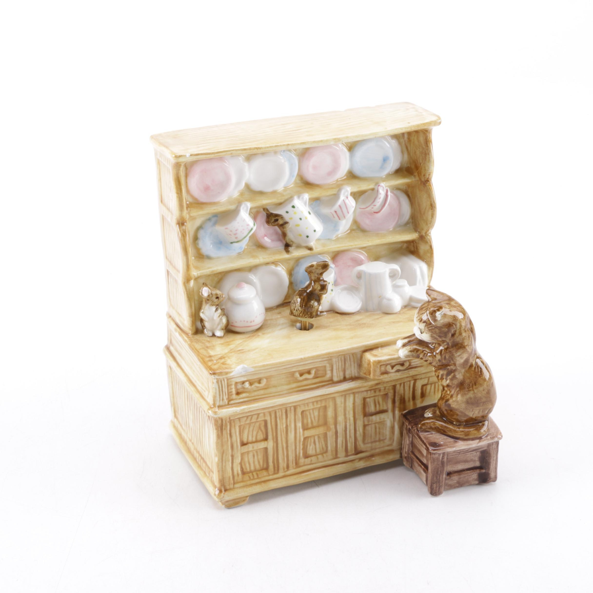 "Schmid Beatrix Potter ""The Tailor of Gloucester"" Music Box"
