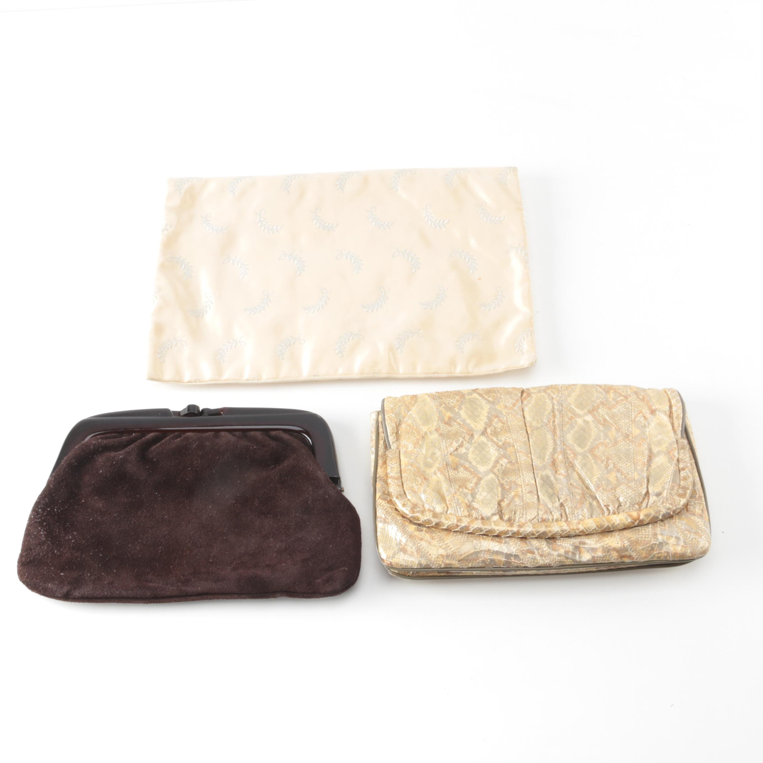 Vintage Clutches Including Varon