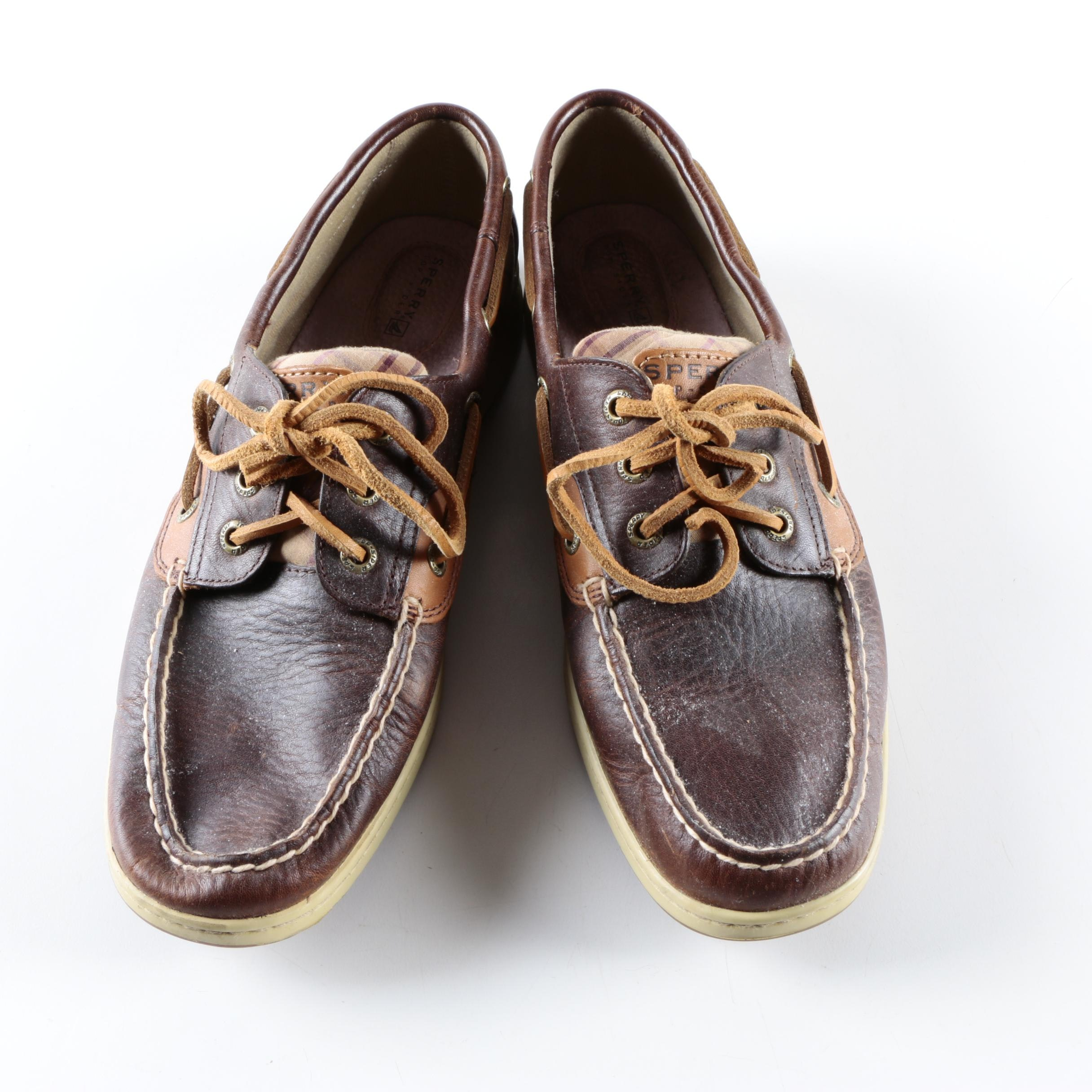 Women's Sperry Leather Loafers