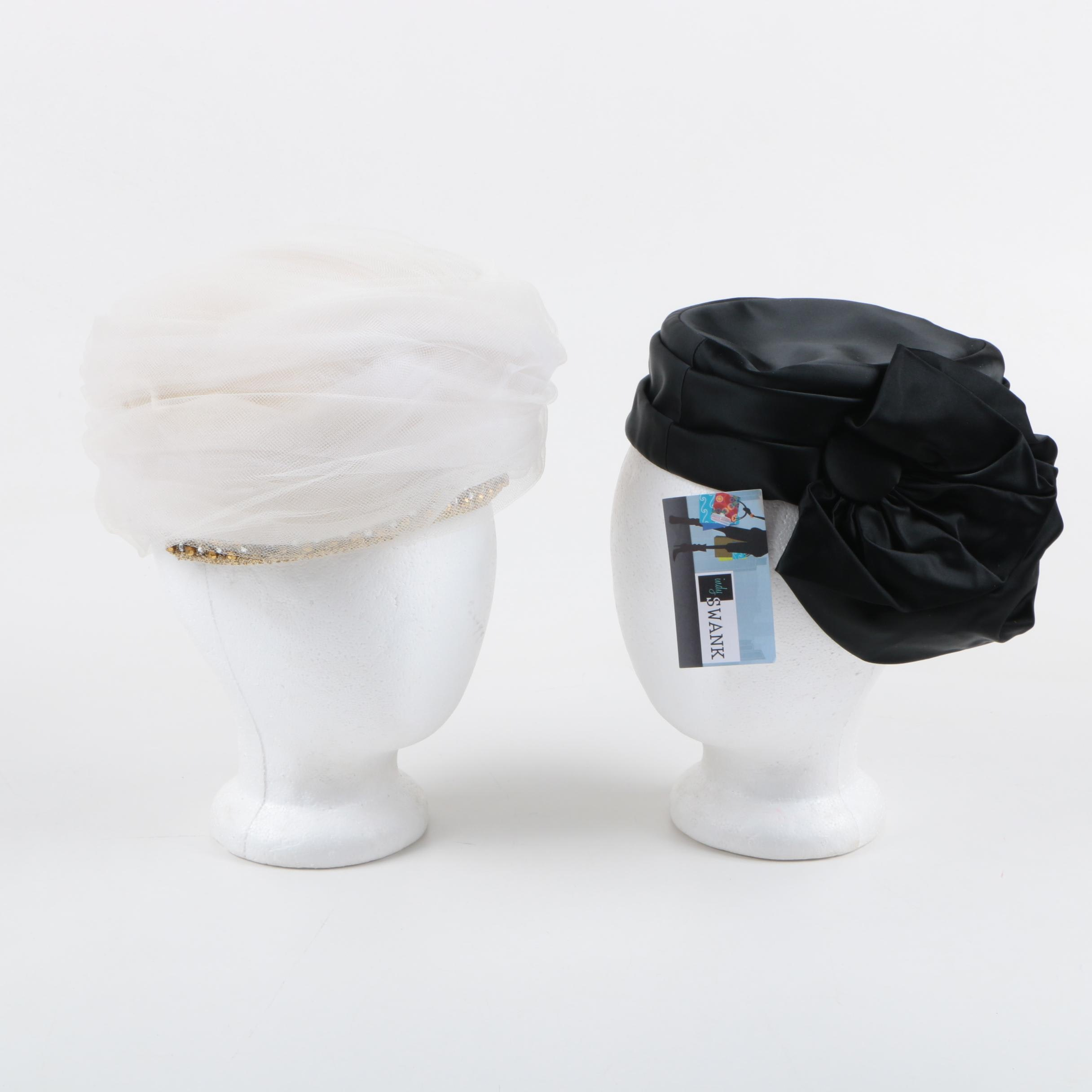 Vintage Hats Including Schiaparelli
