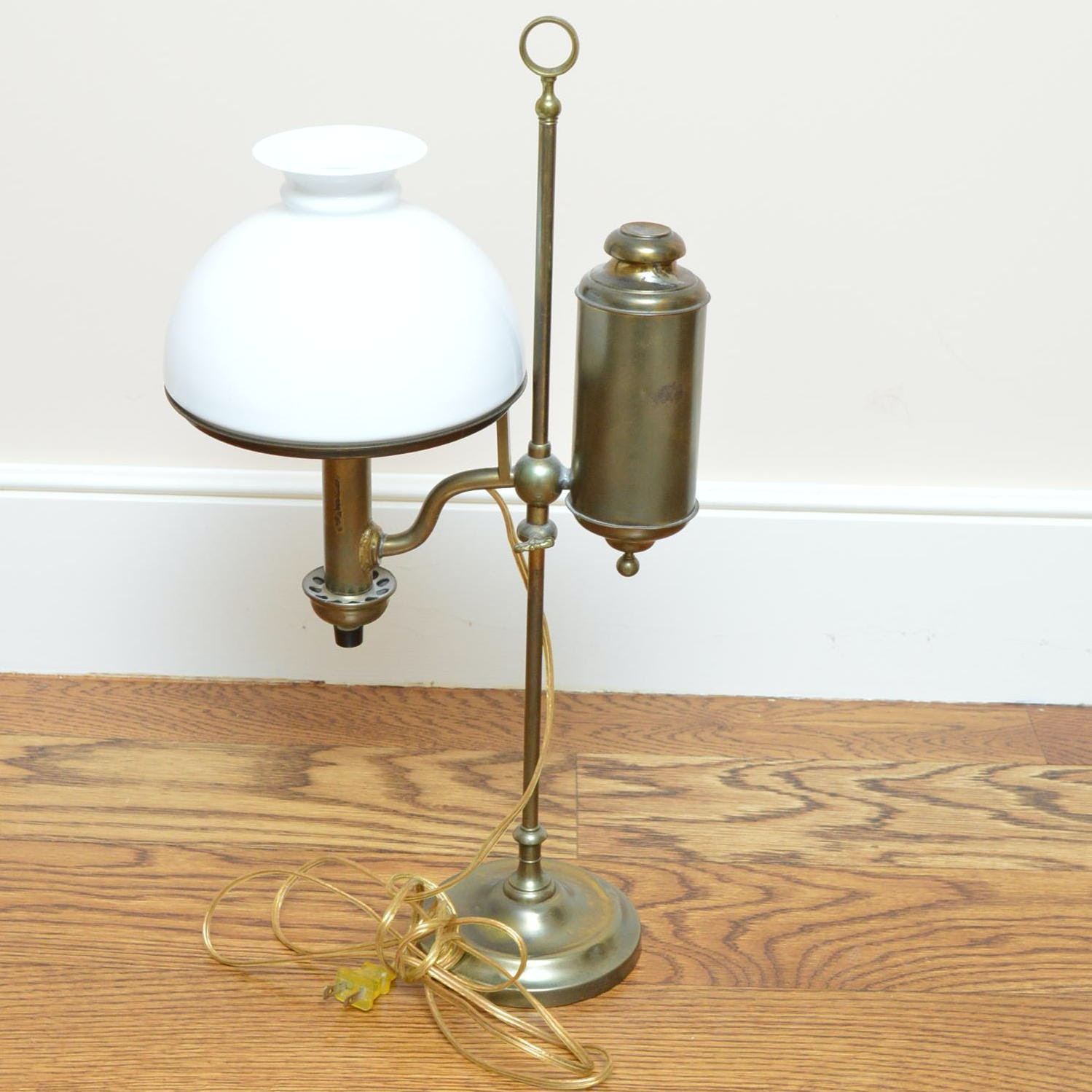 Vintage Converted Student Oil Lamp