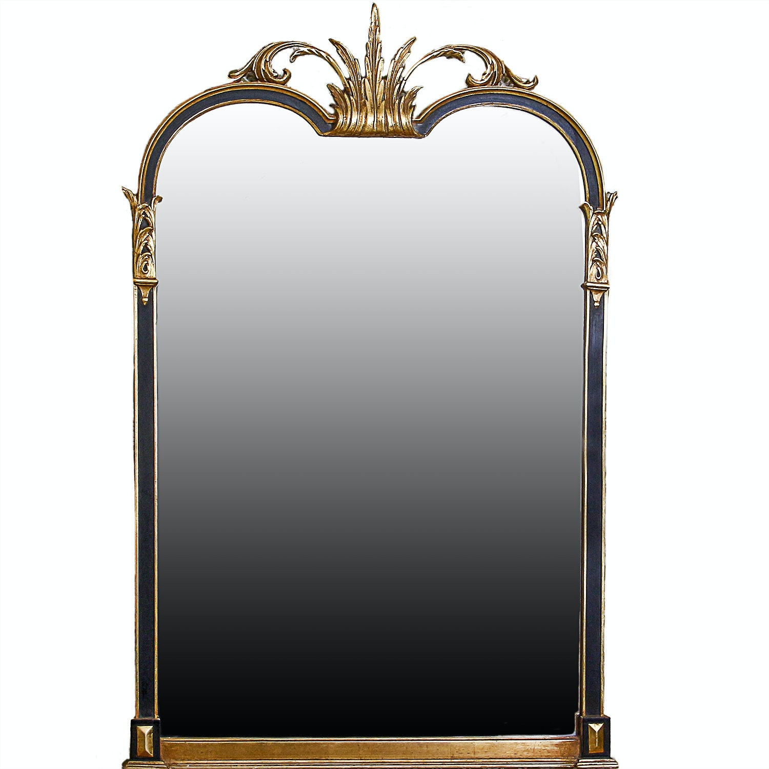 Empire Style Mirror and Gold Tone Wood Frame