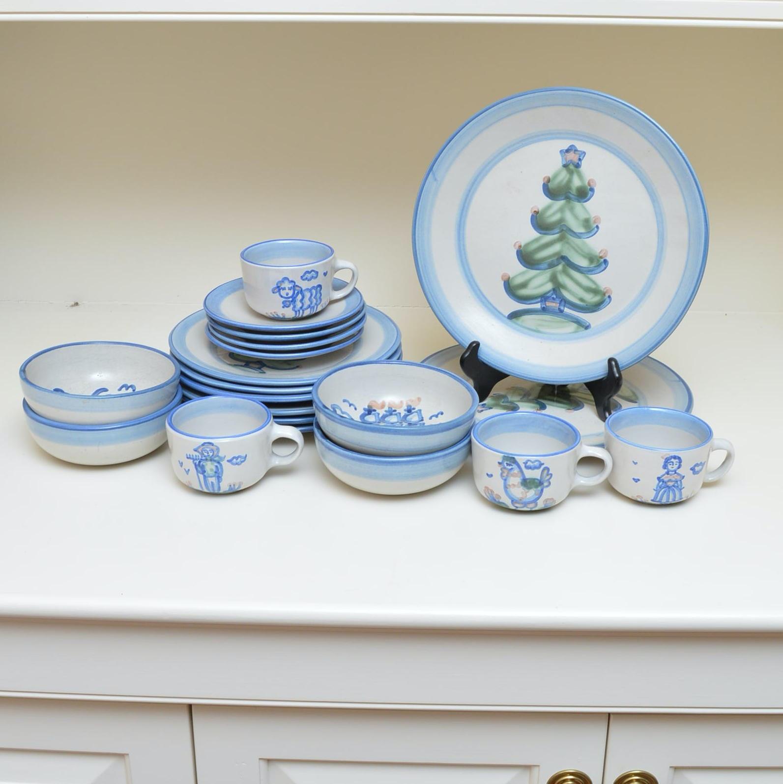 M.A. Hadley Pottery Tableware