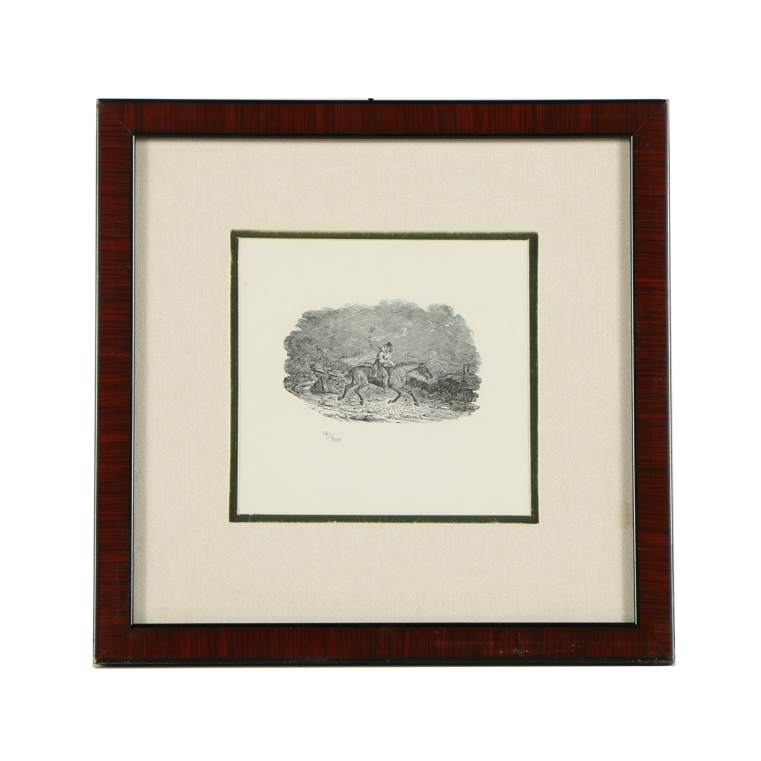 Limited Edition Lithograph Print on Paper after Thomas Bewick