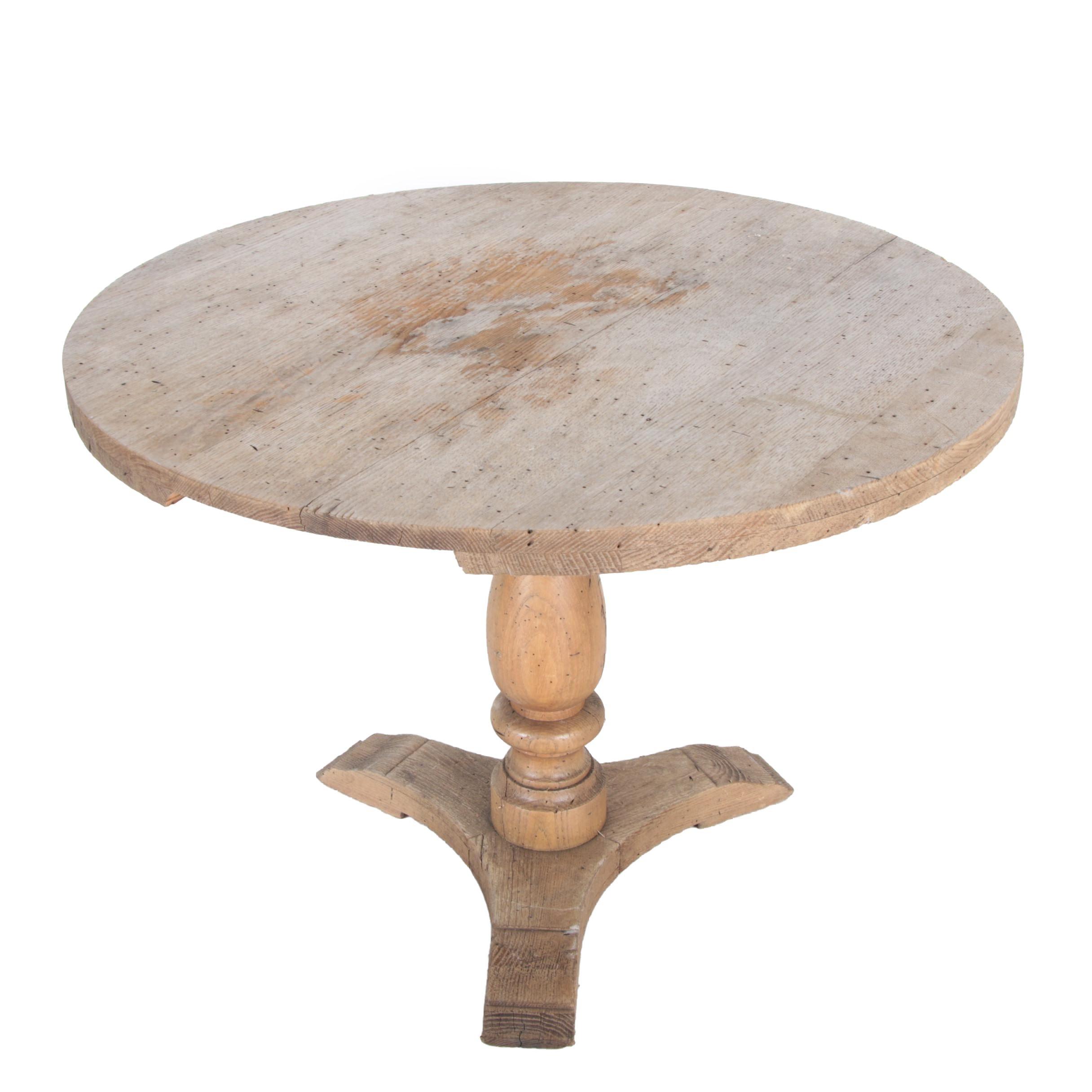 Antique Ash Center Table