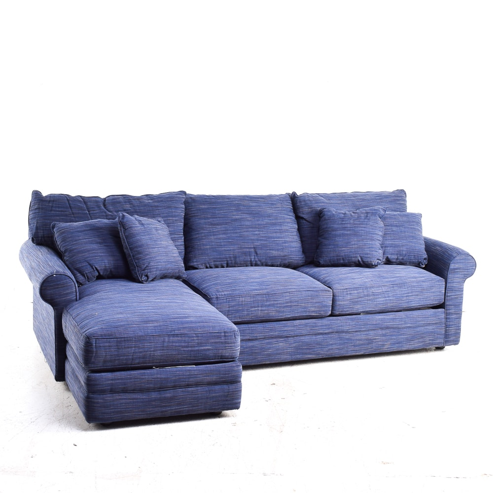 Roll Arm Upholstered Sectional