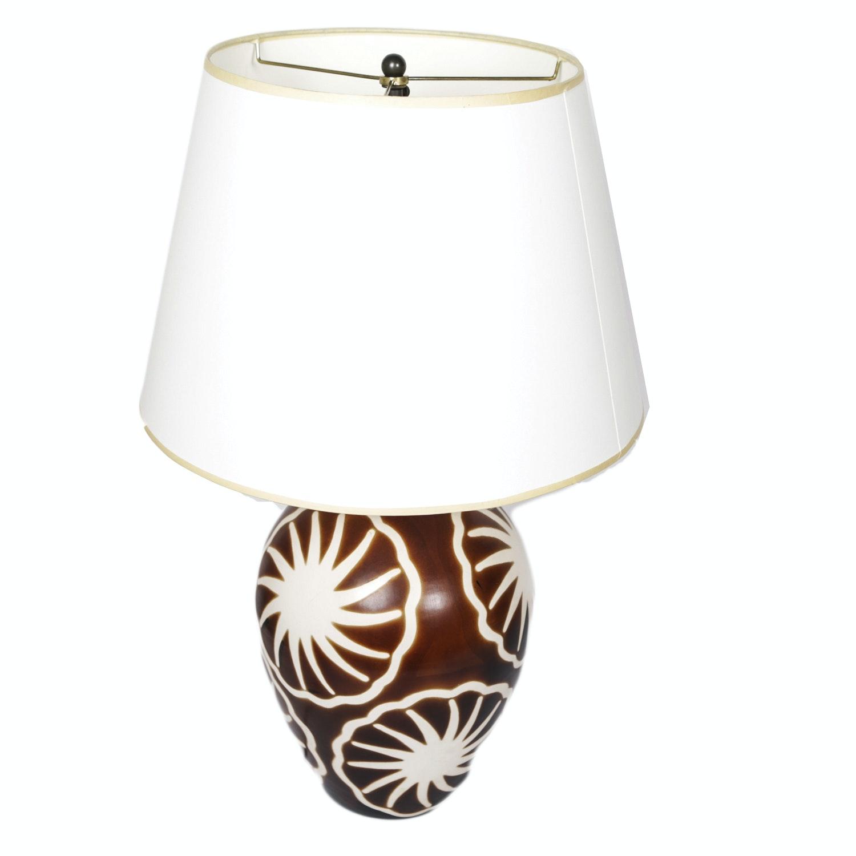 Peruvian Artisan Guild Ceramic Lamp