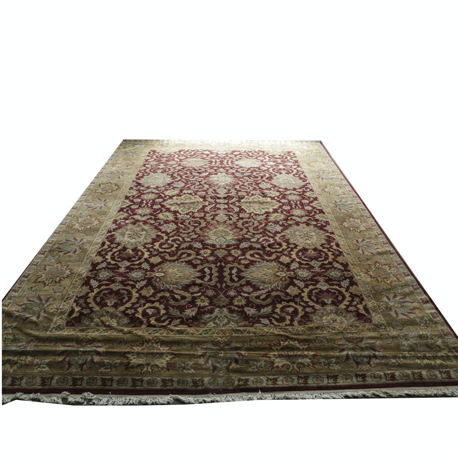 Palace-Sized Hand-Knotted Persian Sultanabad Area Rug