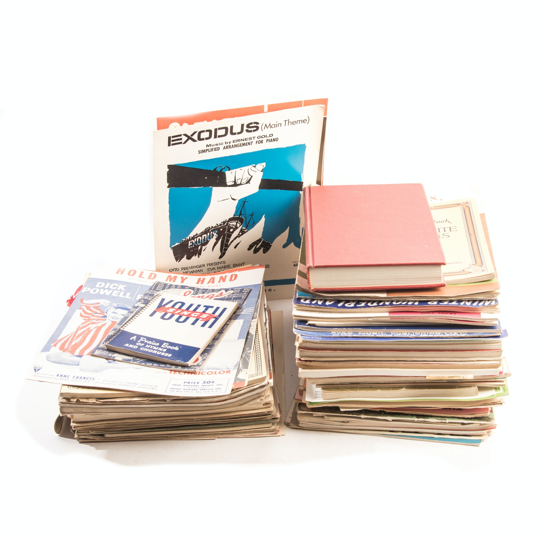 Generous Assortment of Sheet Music and Song Books