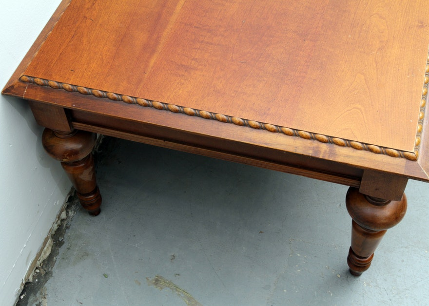 Traditional Style Coffee Table Ebth