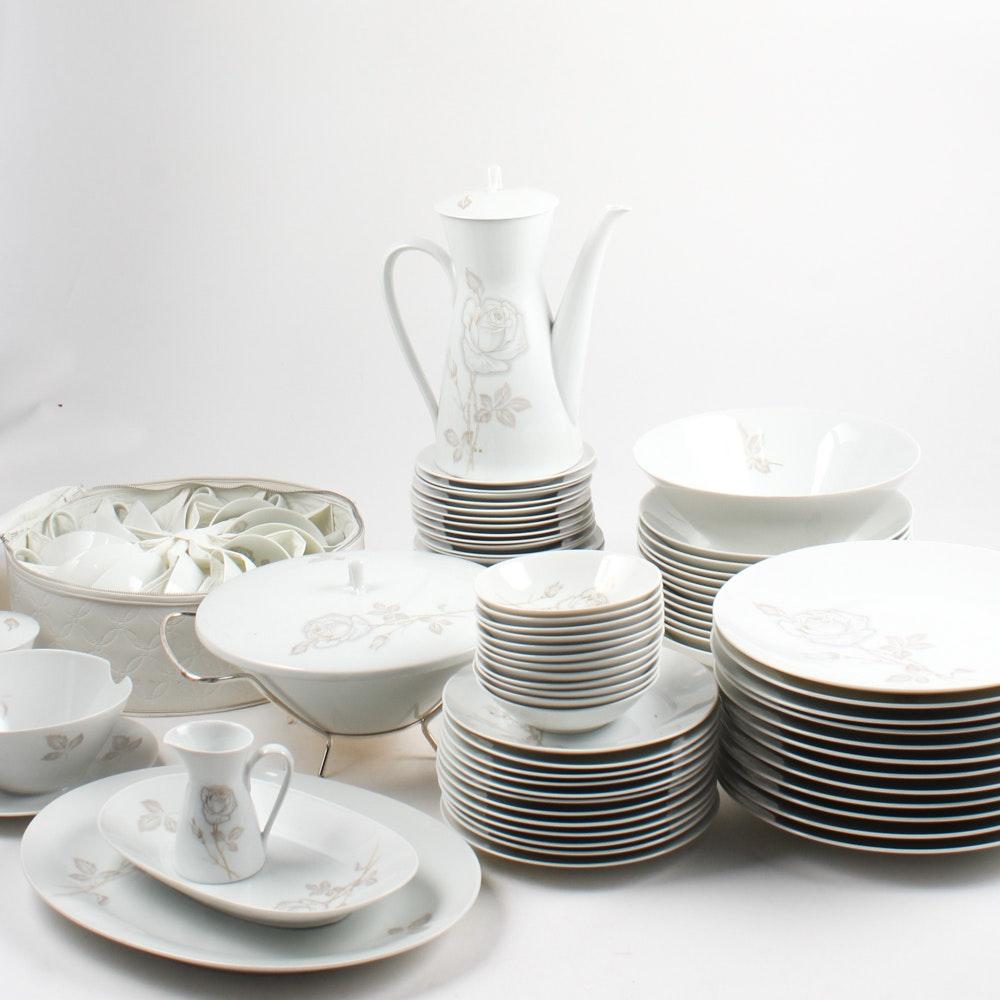 Rosenthal \ Classic Rose\  Fine China Tableware Set & Vintage Tableware Auction | Antique Tableware Auctions in Art ...