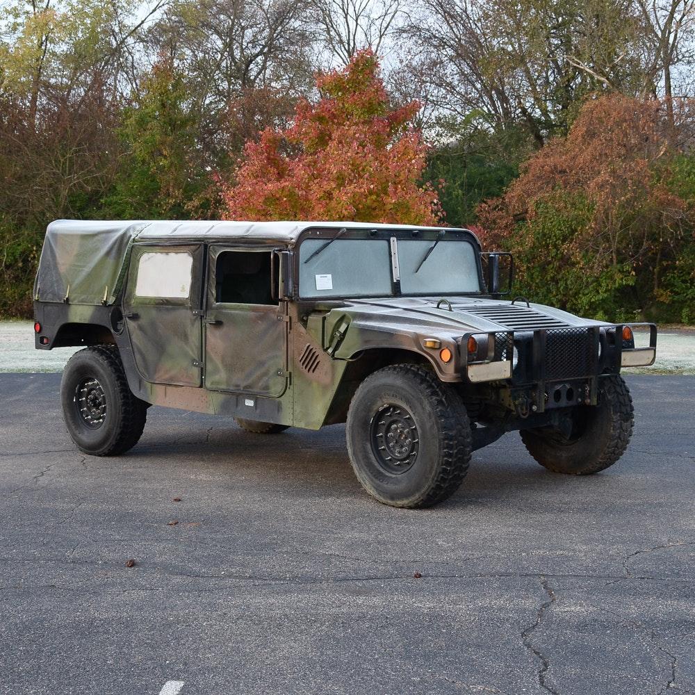 1992 AM General M998 Humvee 1 1/4 Ton Utility Truck