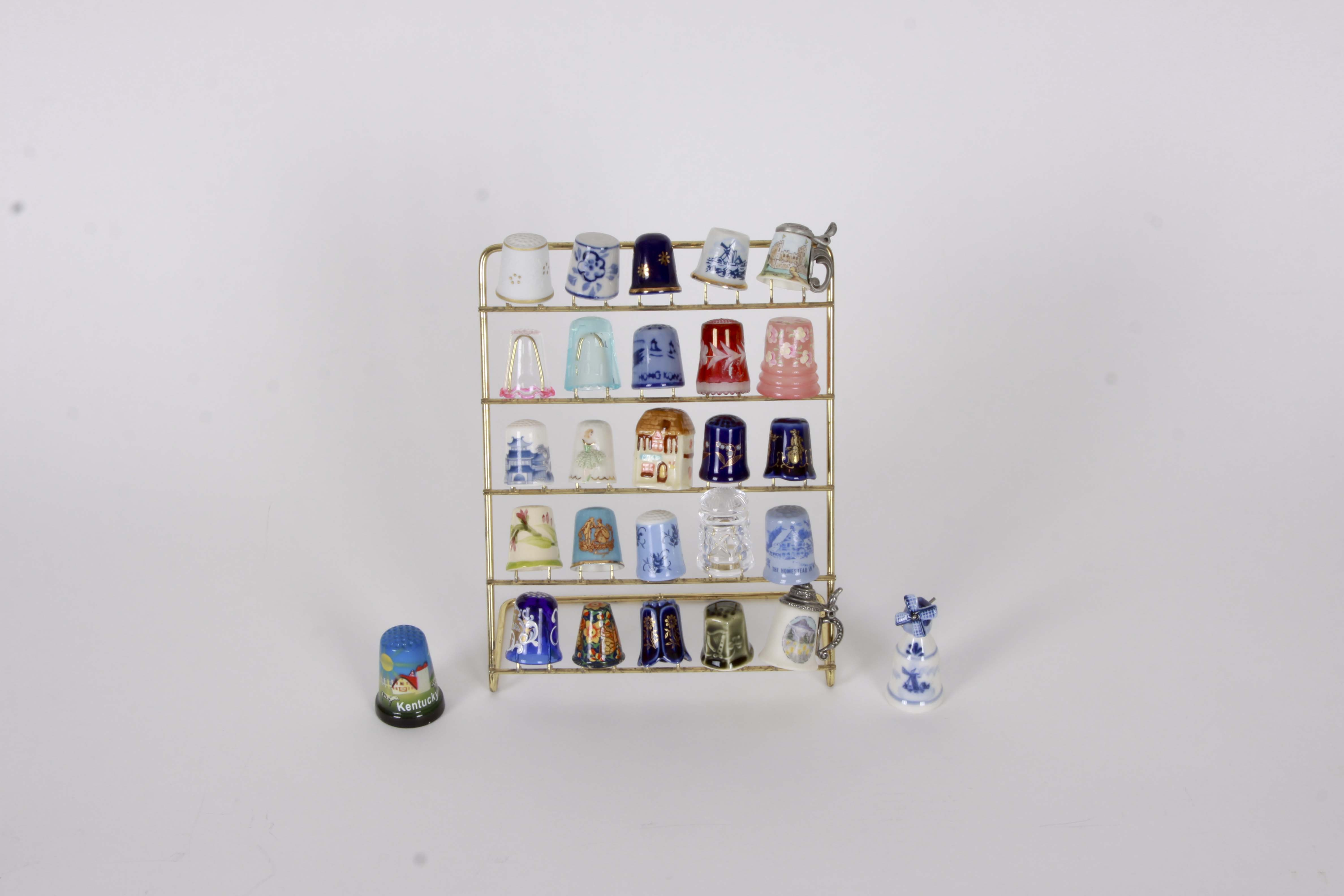 Collection of Assorted Thimbles