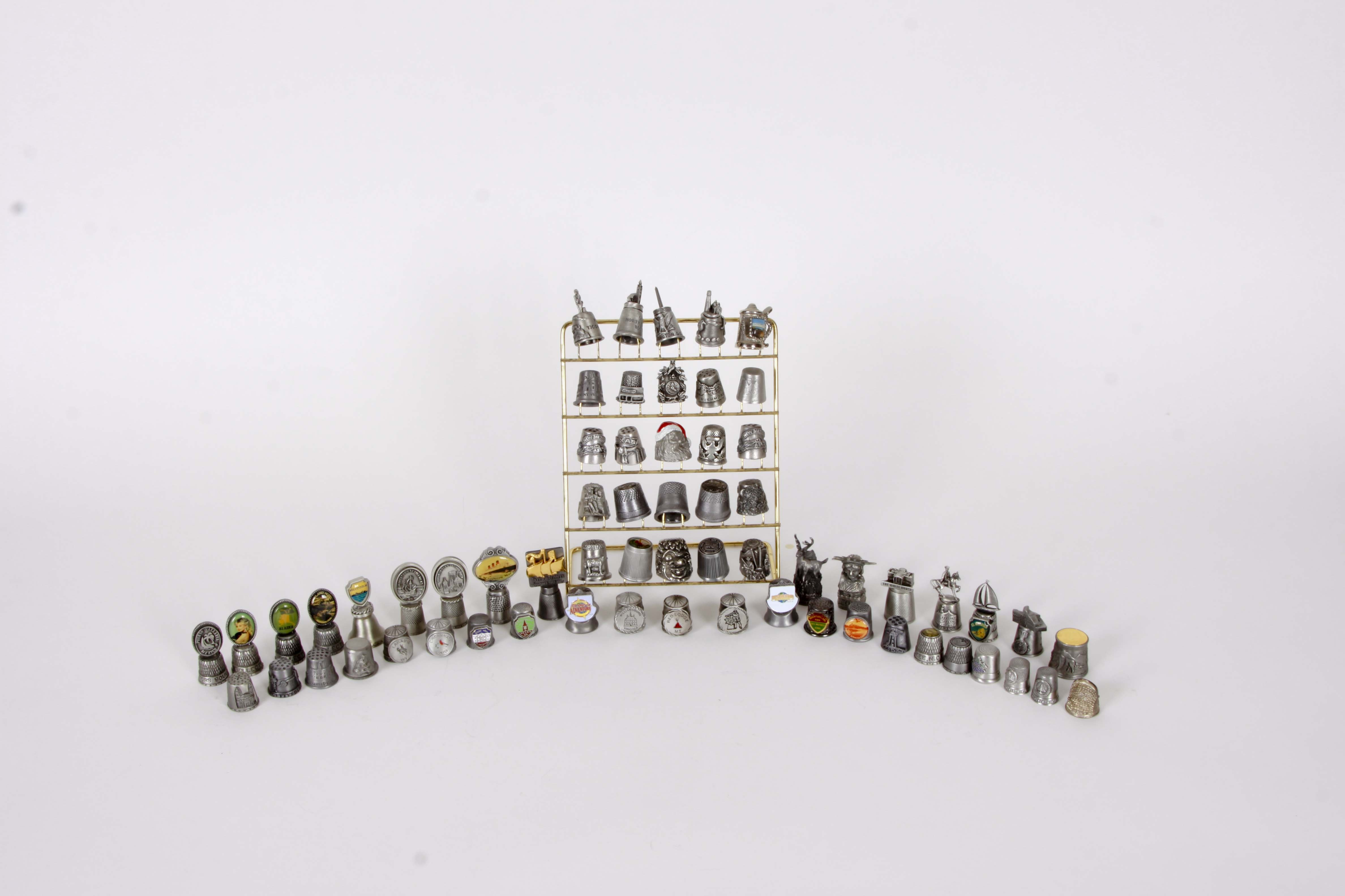 Metal Thimble Collection