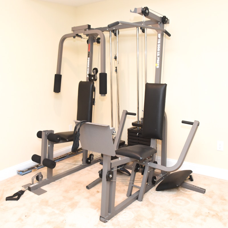 "Weider ""Pro Power Stack"" Home Gym"