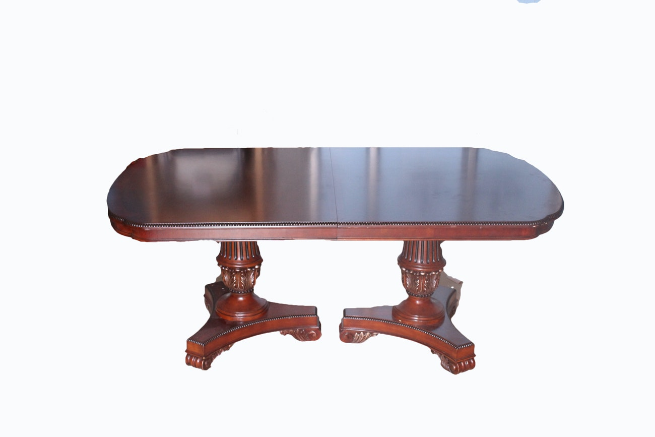 Ovular Wooden Dining Table