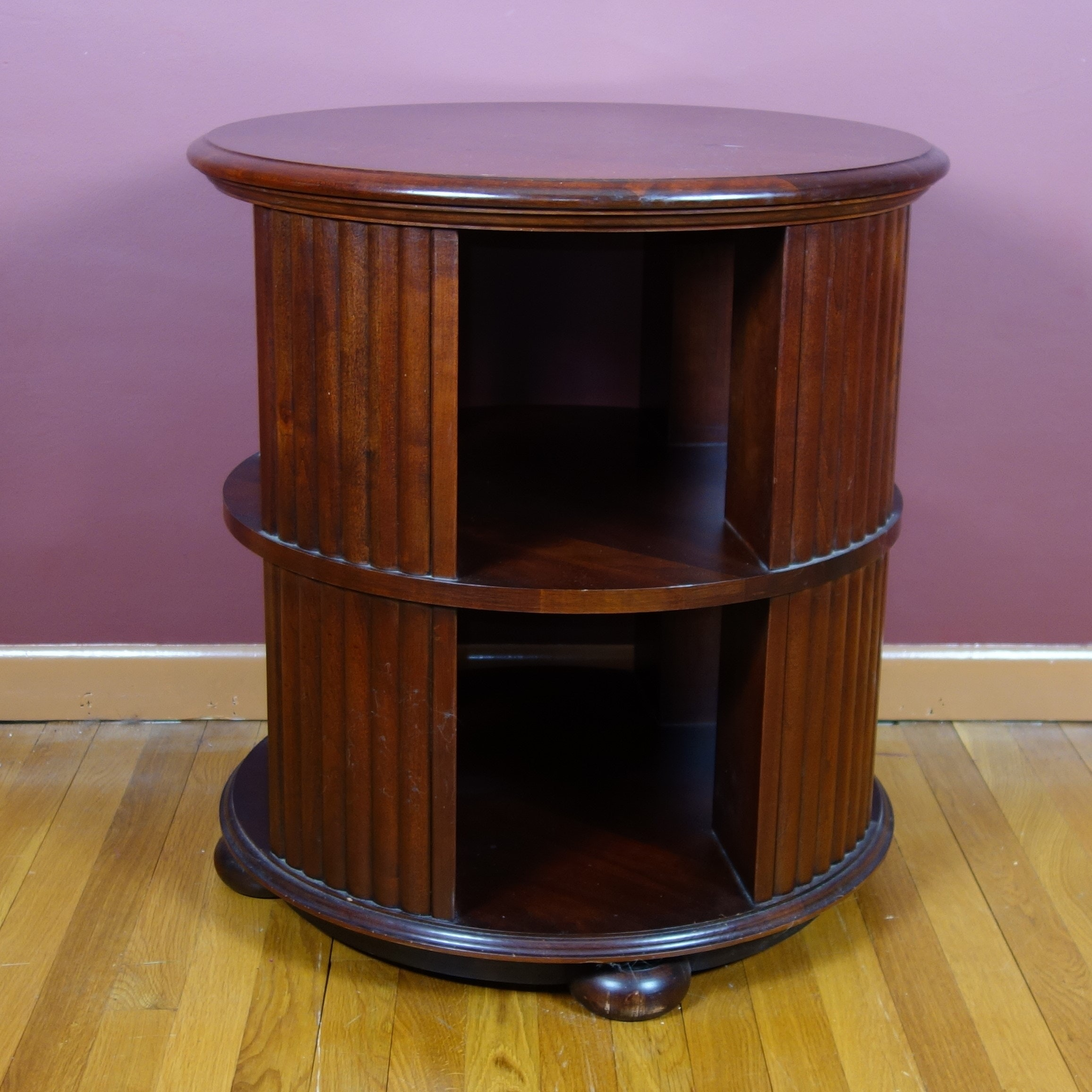 Modern Revolving Side Table