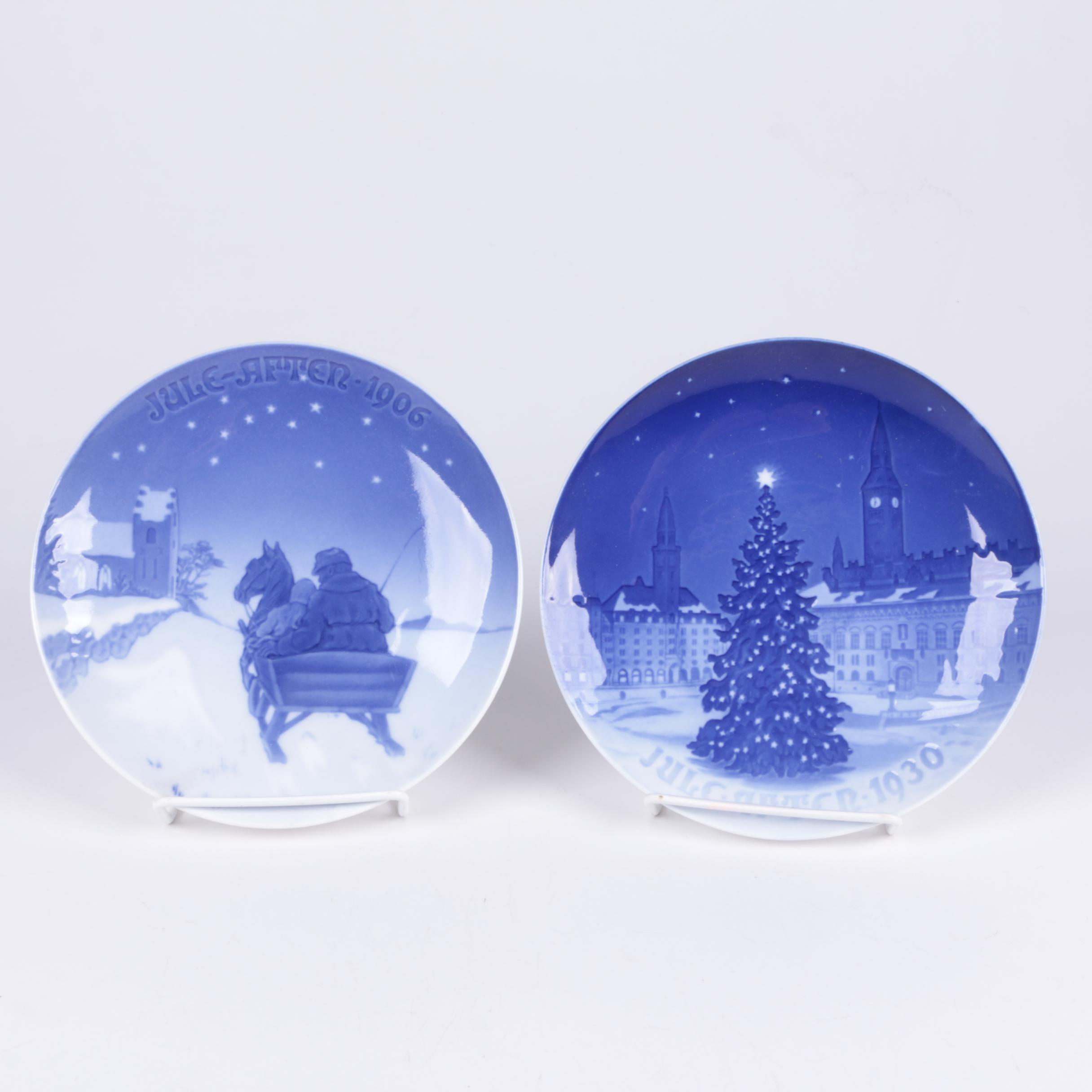Bing & Grondahl Porcelain Commemorative Christmas Plates