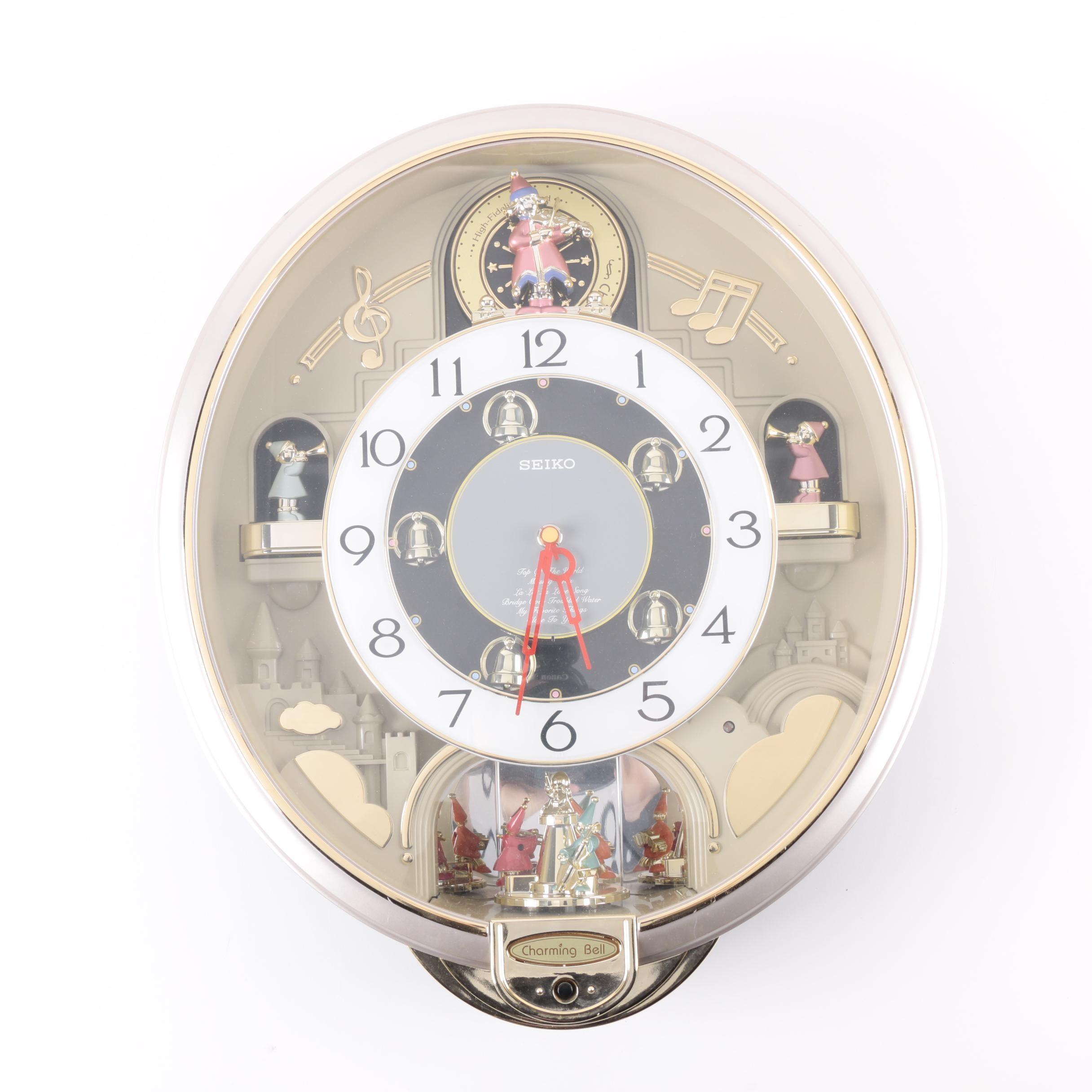 Vintage Seiko Charming Bell Wall Clock