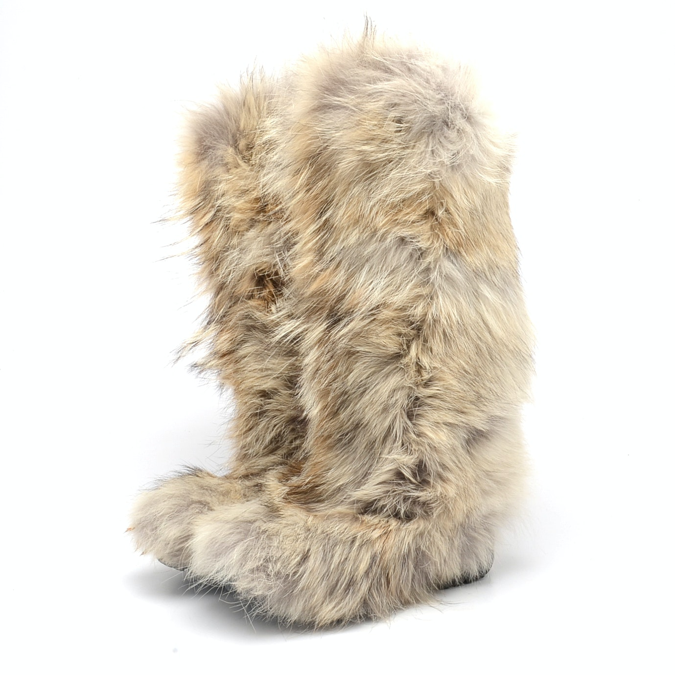Ralph Lauren Collection Coyote Fur Boots