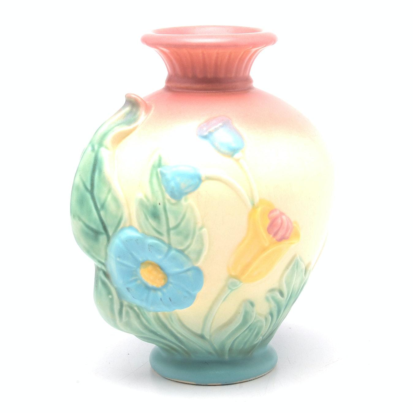 "Vintage Hull Art Pottery ""Bow Knot"" Vase"