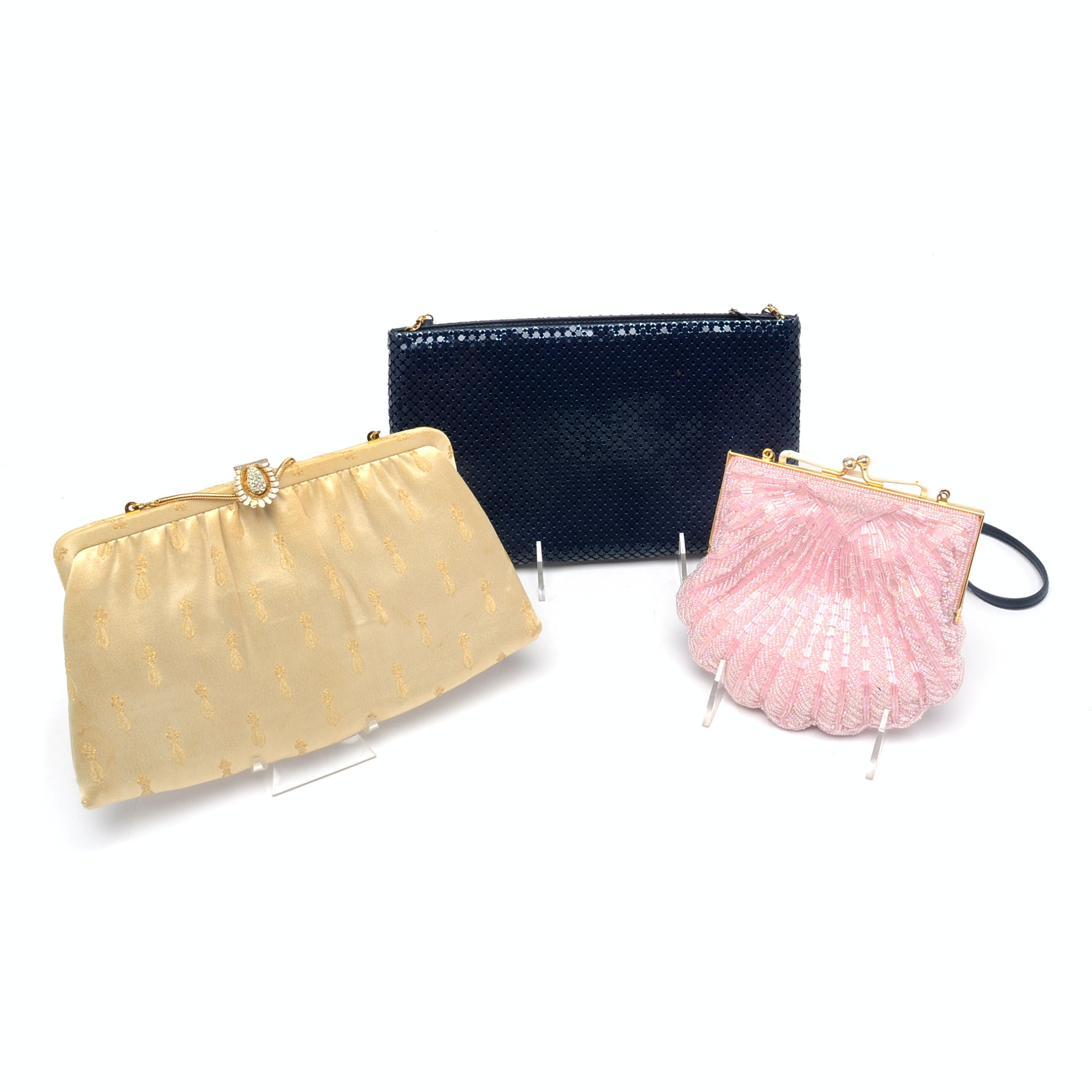 Assorted Evening Handbags with Detachable Handles