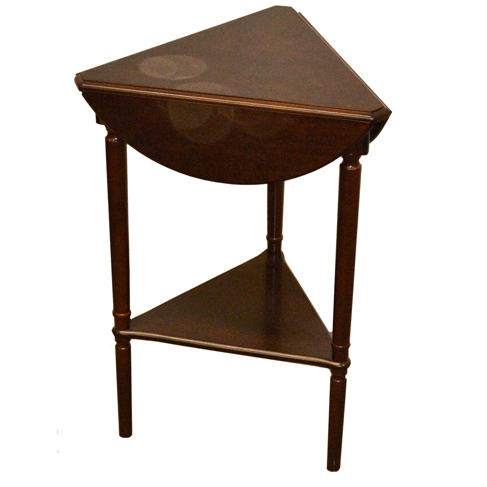 Wooden Drop-Leaf Accent Table by Bombay