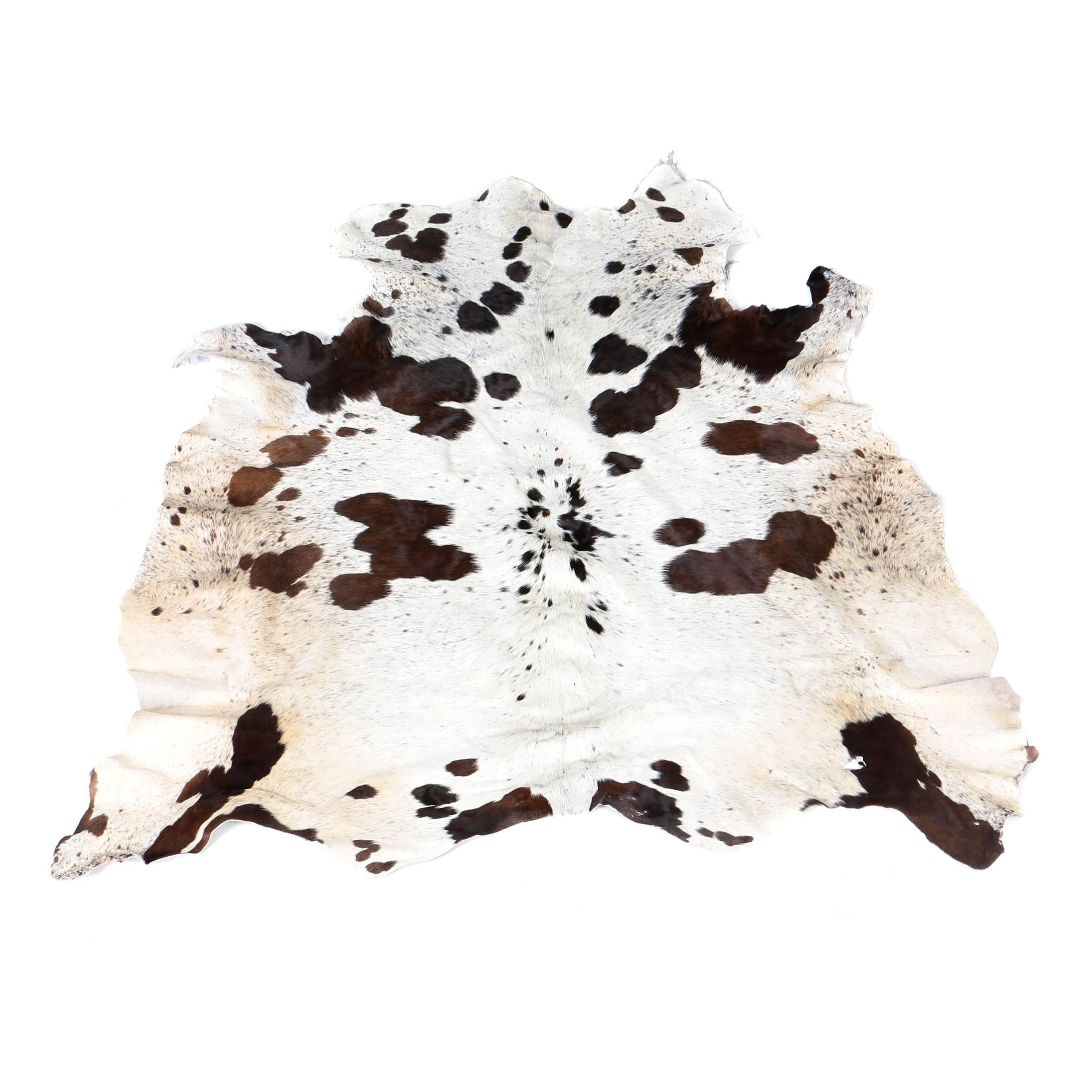 Natural Cowhide Accent Rug