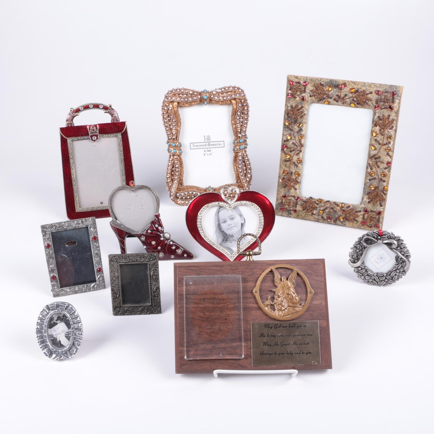 Small Embellished Picture Frames : EBTH