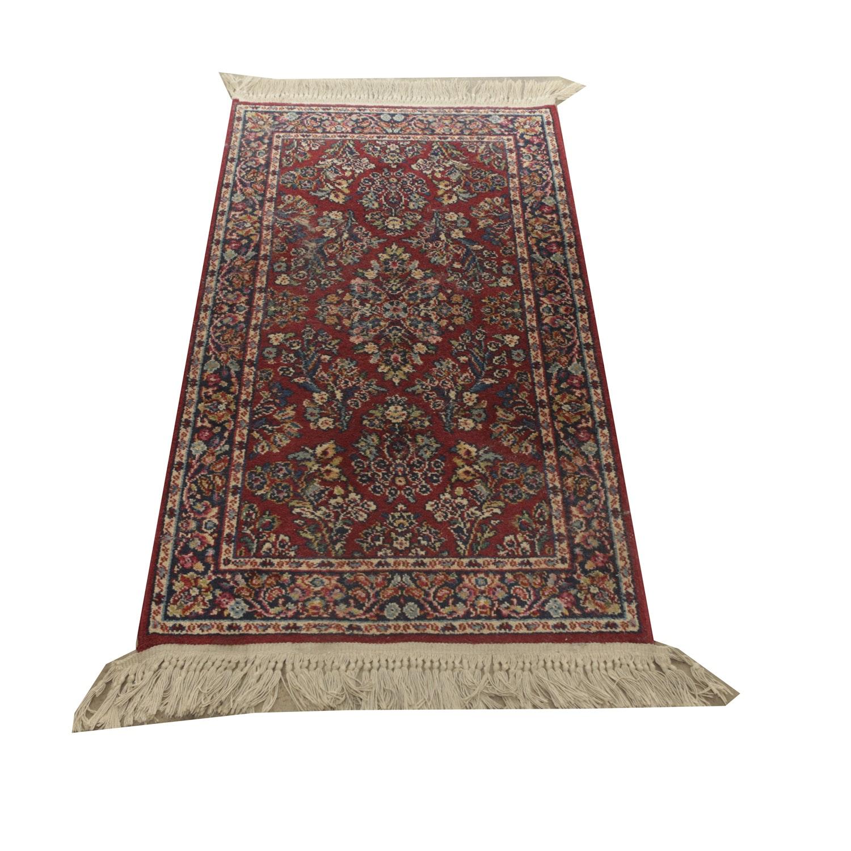 """Power Loomed Karastan """"Sarouk"""" Carpet Runner"""