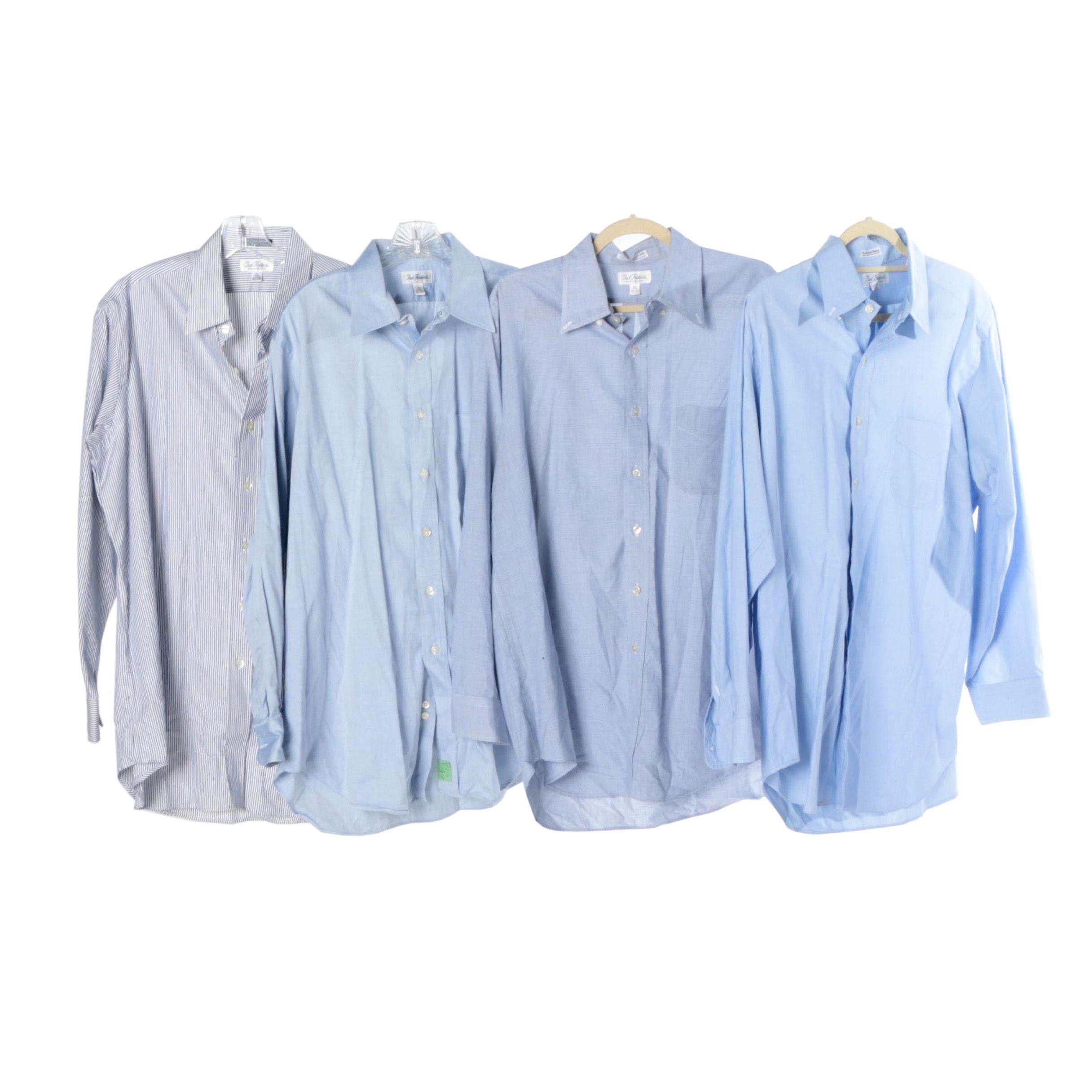 Men's Paul Fredrick Button-Down Dress Shirts