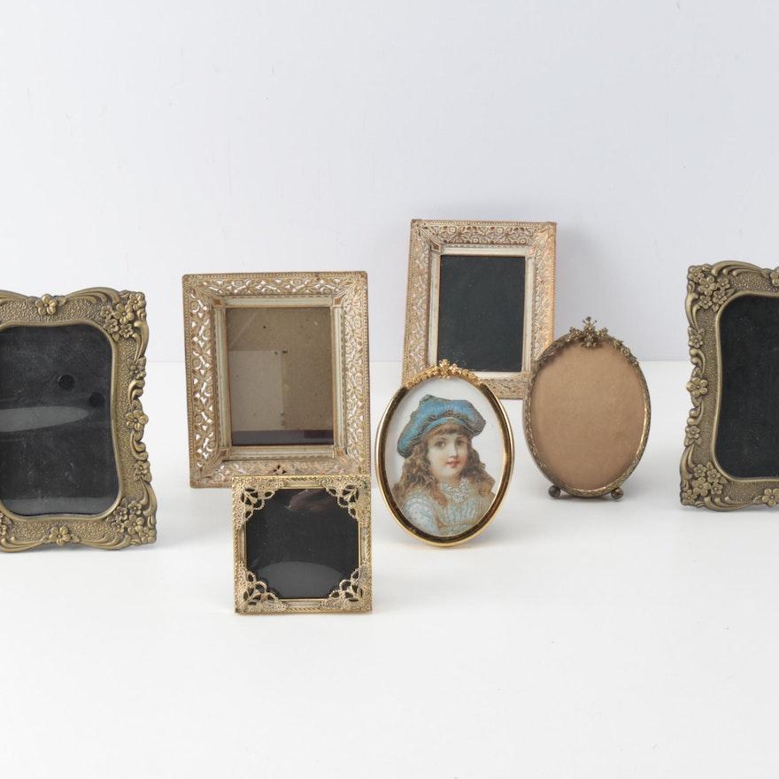 Decorative Metal Picture Frames Ebth