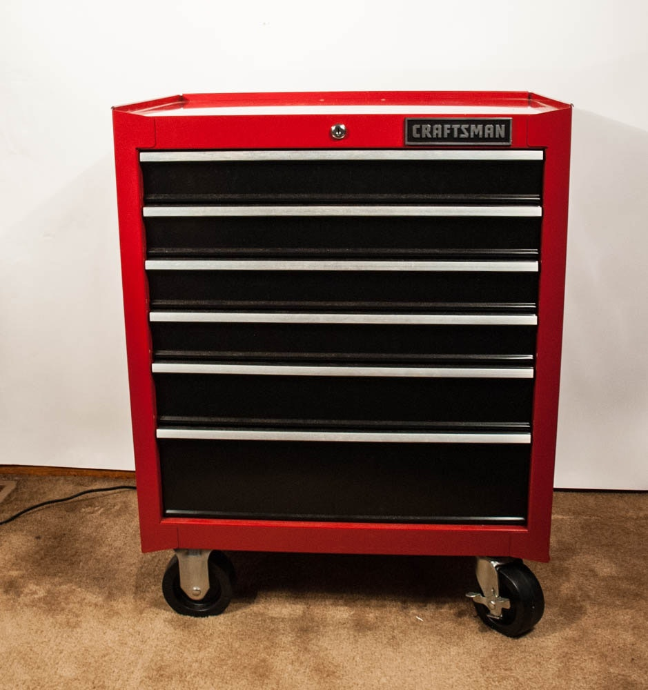Craftsman 6 Drawer Rolling Tool Chest