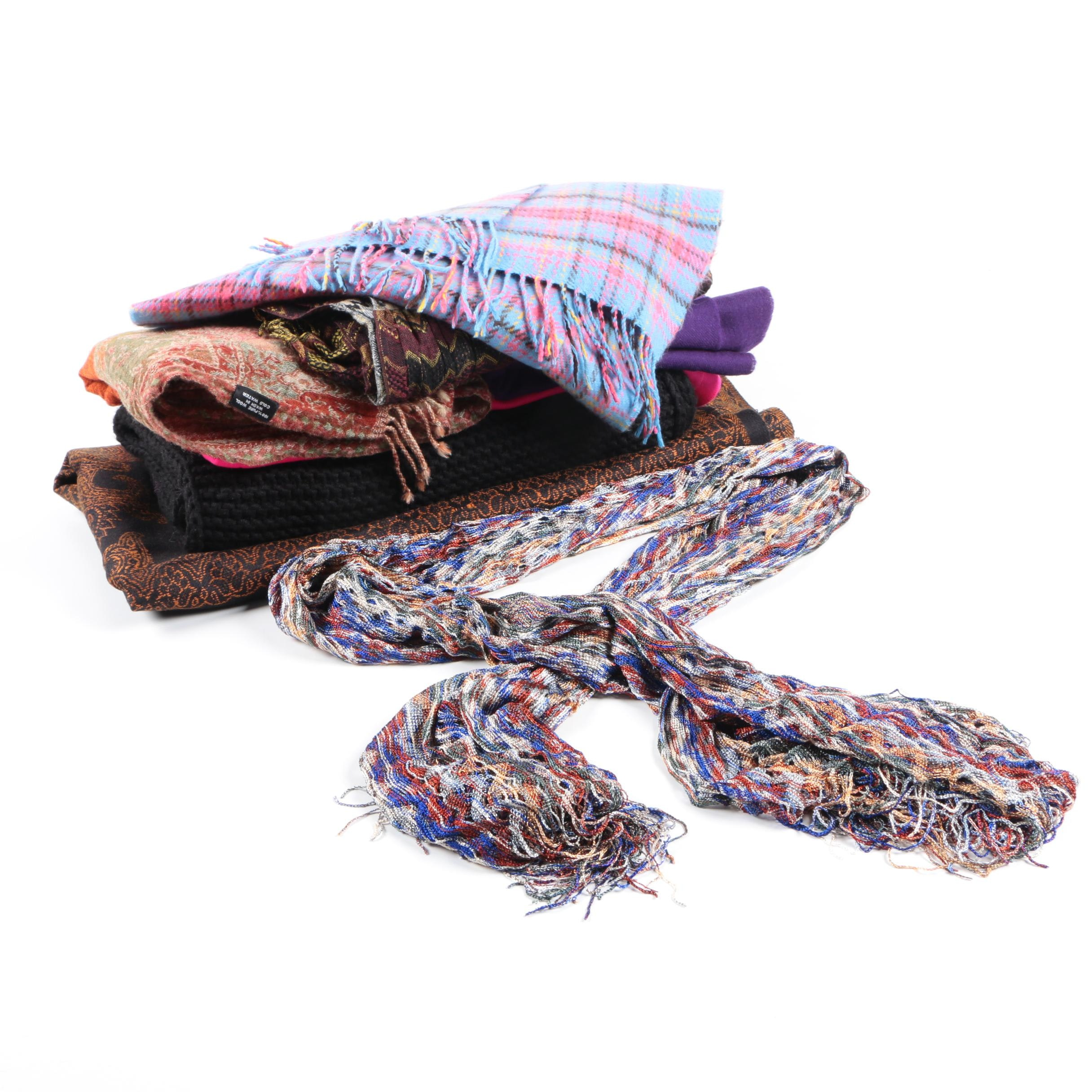 Scarves Collection Including Pashmina