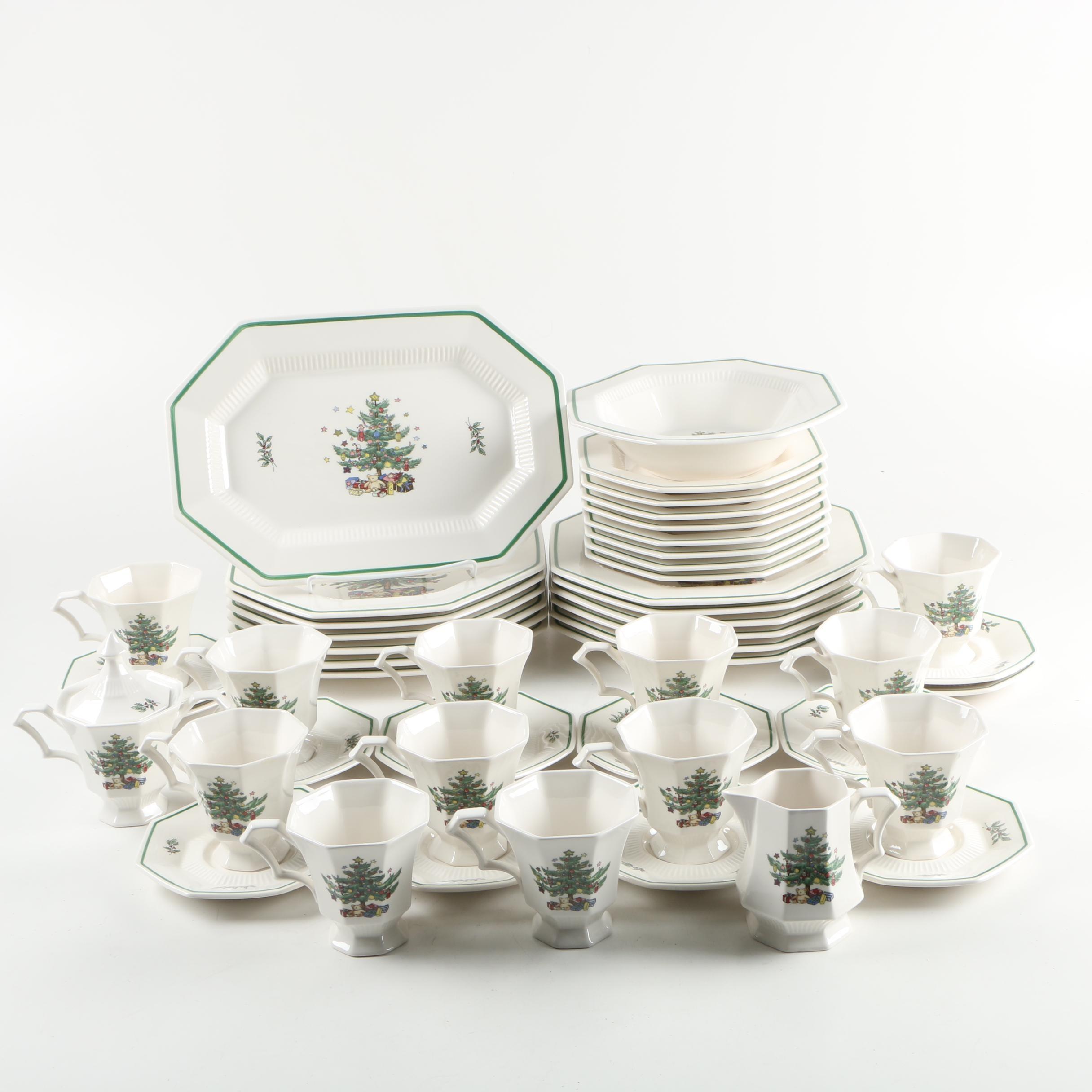 "Nikko ""Christmastime"" Tableware"